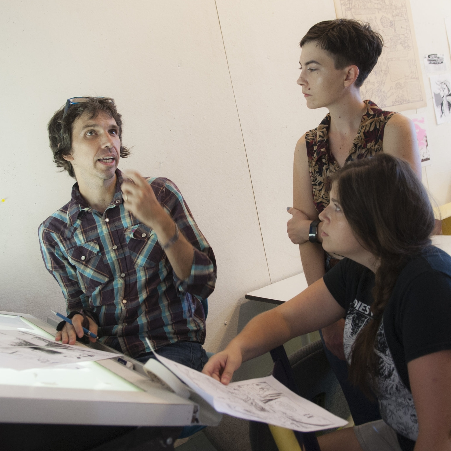 Apply To the Year-Long Comics Intensive! -