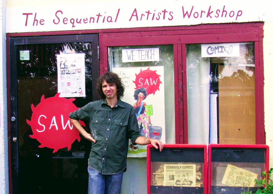 SAW founder Tom Hart in 2012