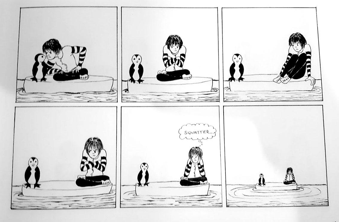 Life on the Iceberg  by Celiabeth