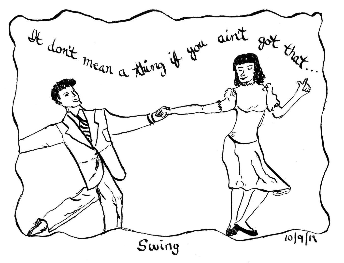 Cynthia Clark,  Swing.