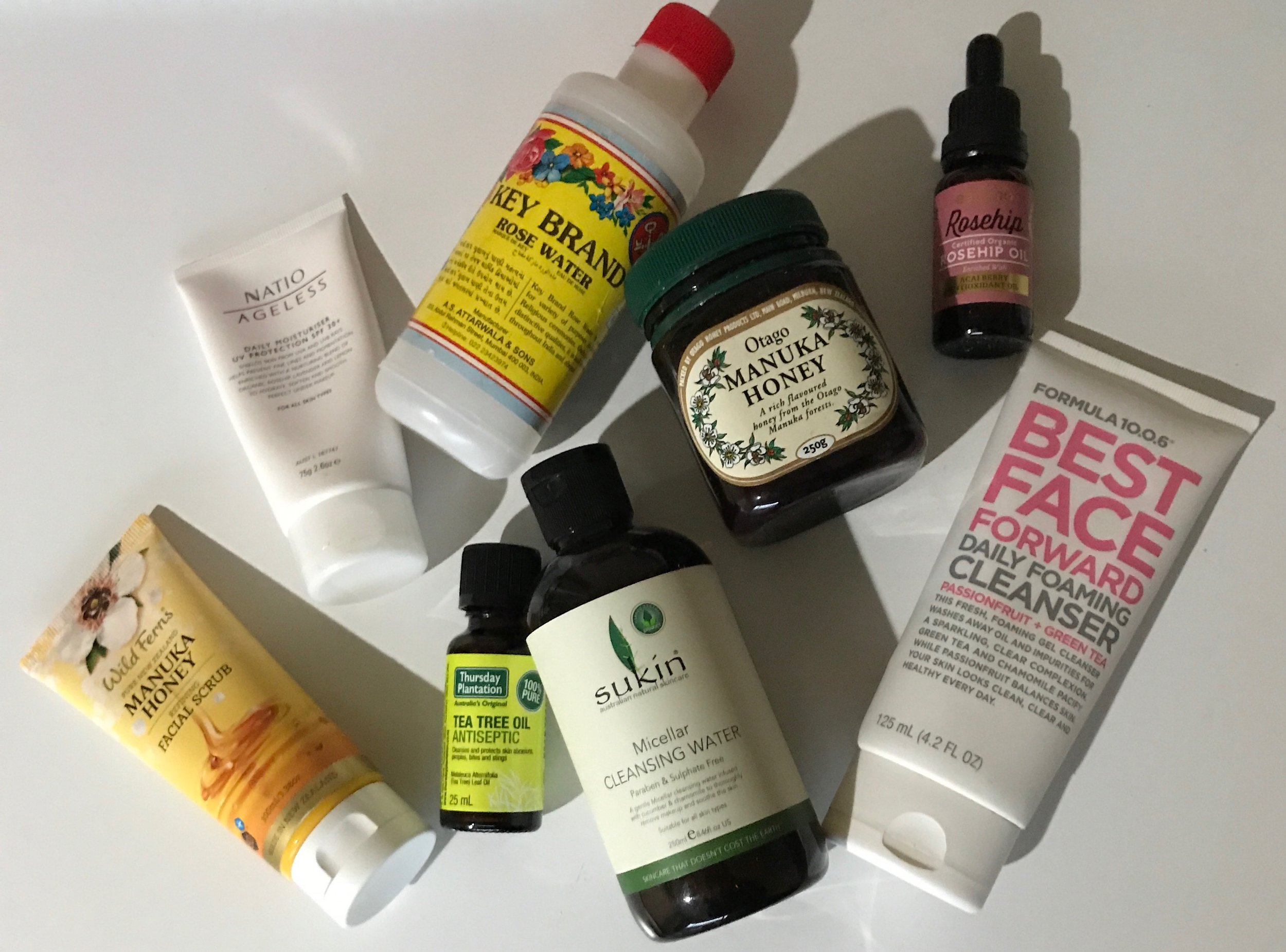 Products that I love to use that you can find at pharmacies or supermarkets.