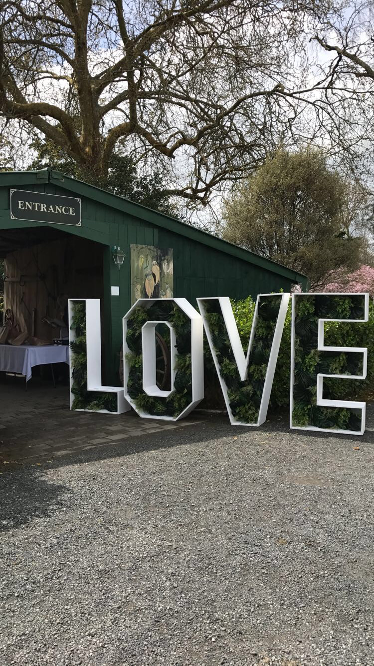 Entrance to the 'Forever I Do' event.
