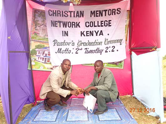 - CMN COLLEGE MISSION / / To bring more people to the way and teachings of Jesus Christ through the mentoring process, we believe, will change Kenya, Africa as a whole and the entire nation. OUR VISION  / / Changing the nation to Christ starts with one.