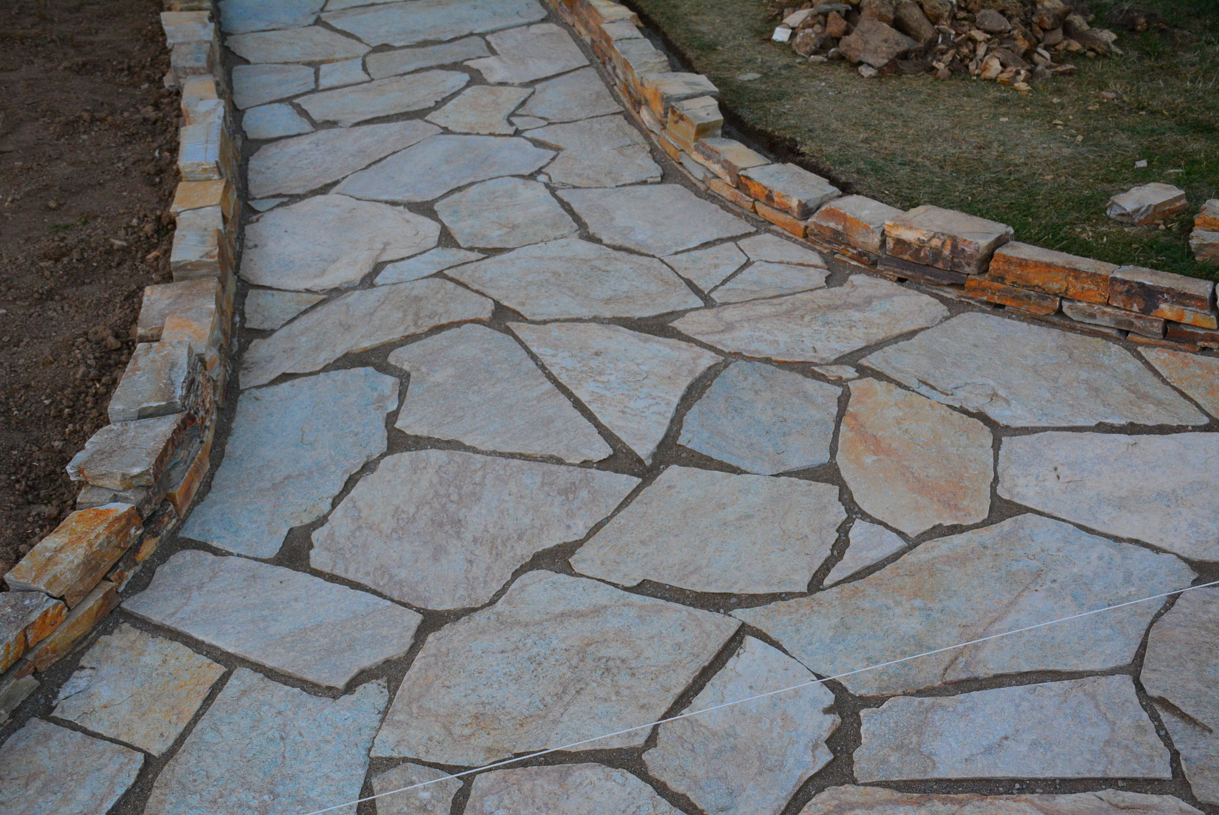4/29/17- Loving how the flagstone turned out
