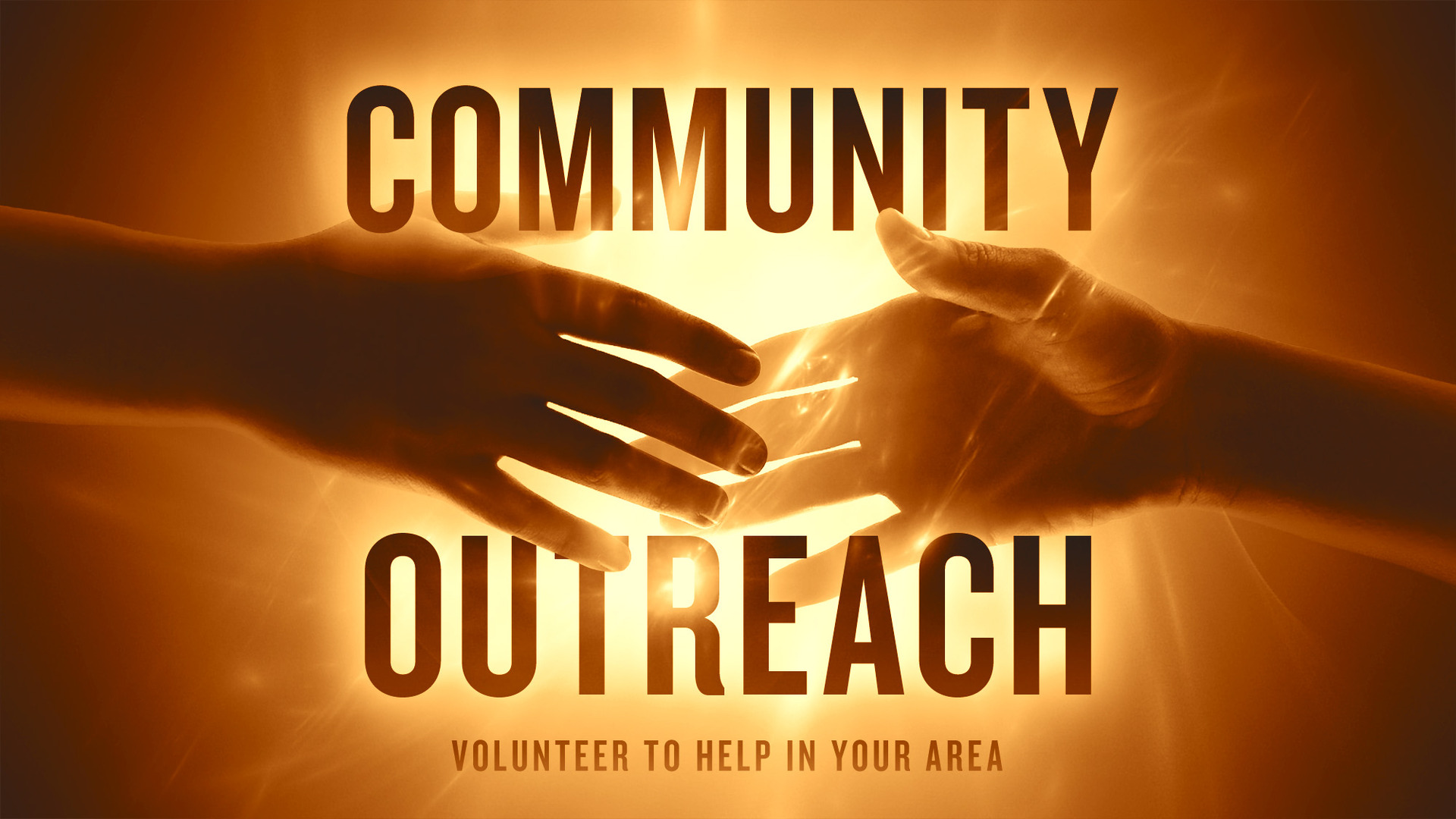 - The Outreach Department focuses on sharing the tangible love of Jesus to the