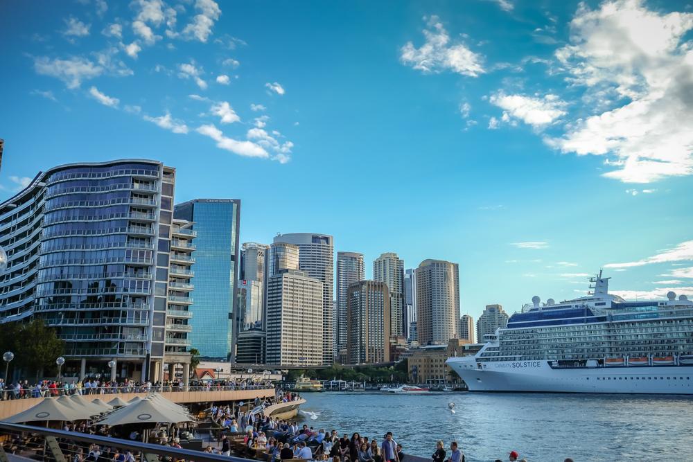 Sydney, Sydney, Sydney. -