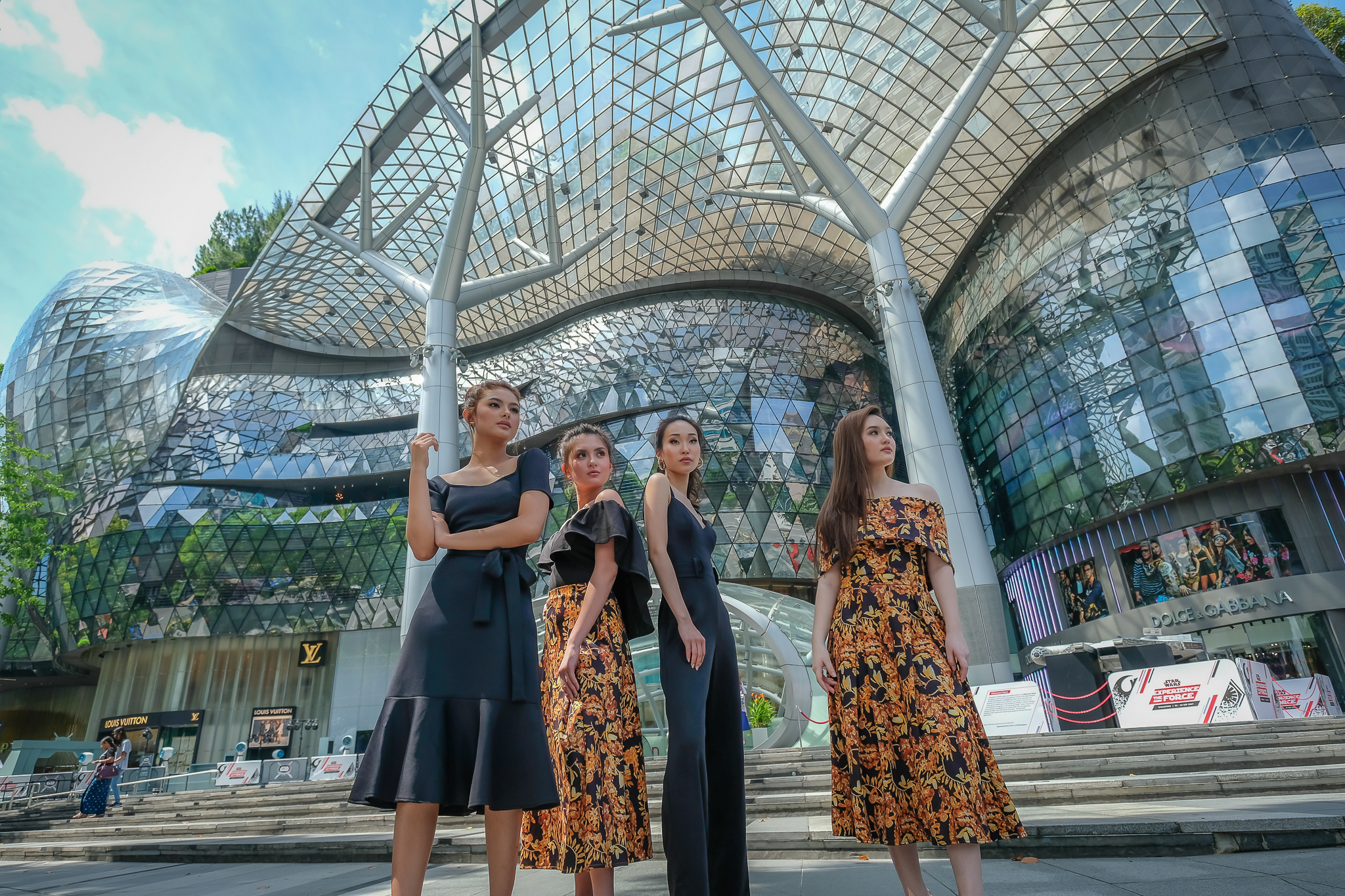 Photoshoot in the Lion City -