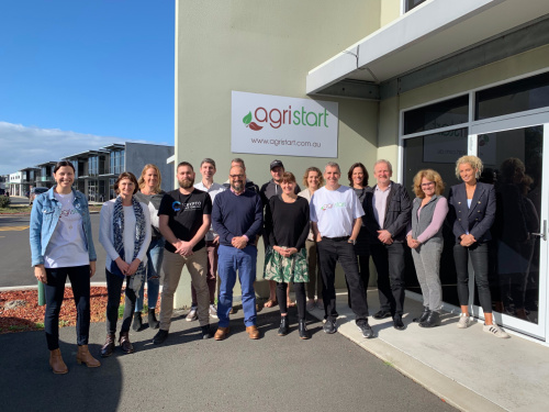 South West Connect Hub cohort at the AgriStart offices in Busselton