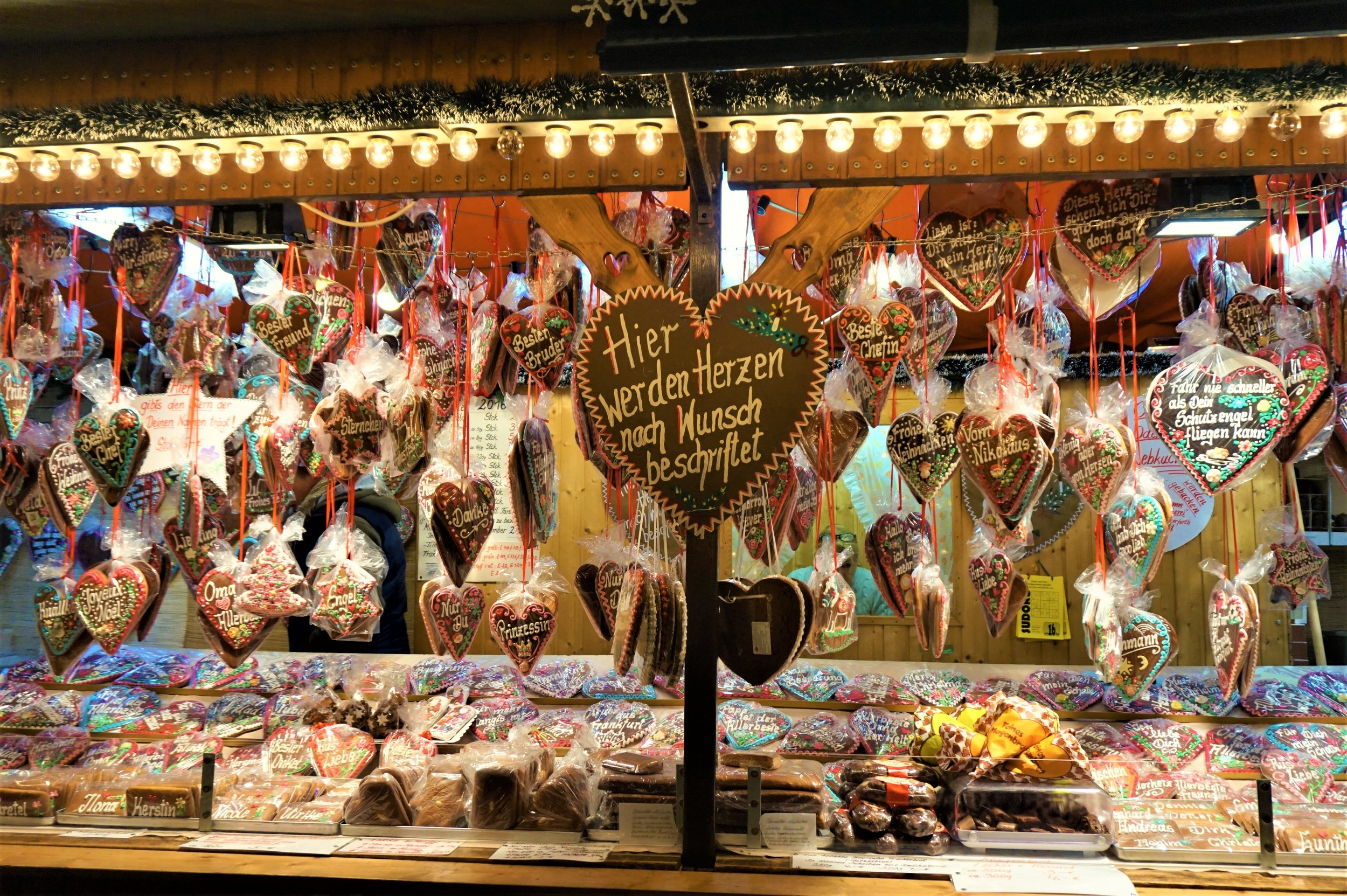 Lebkucken is one of the best things to try at the German Christmas markets