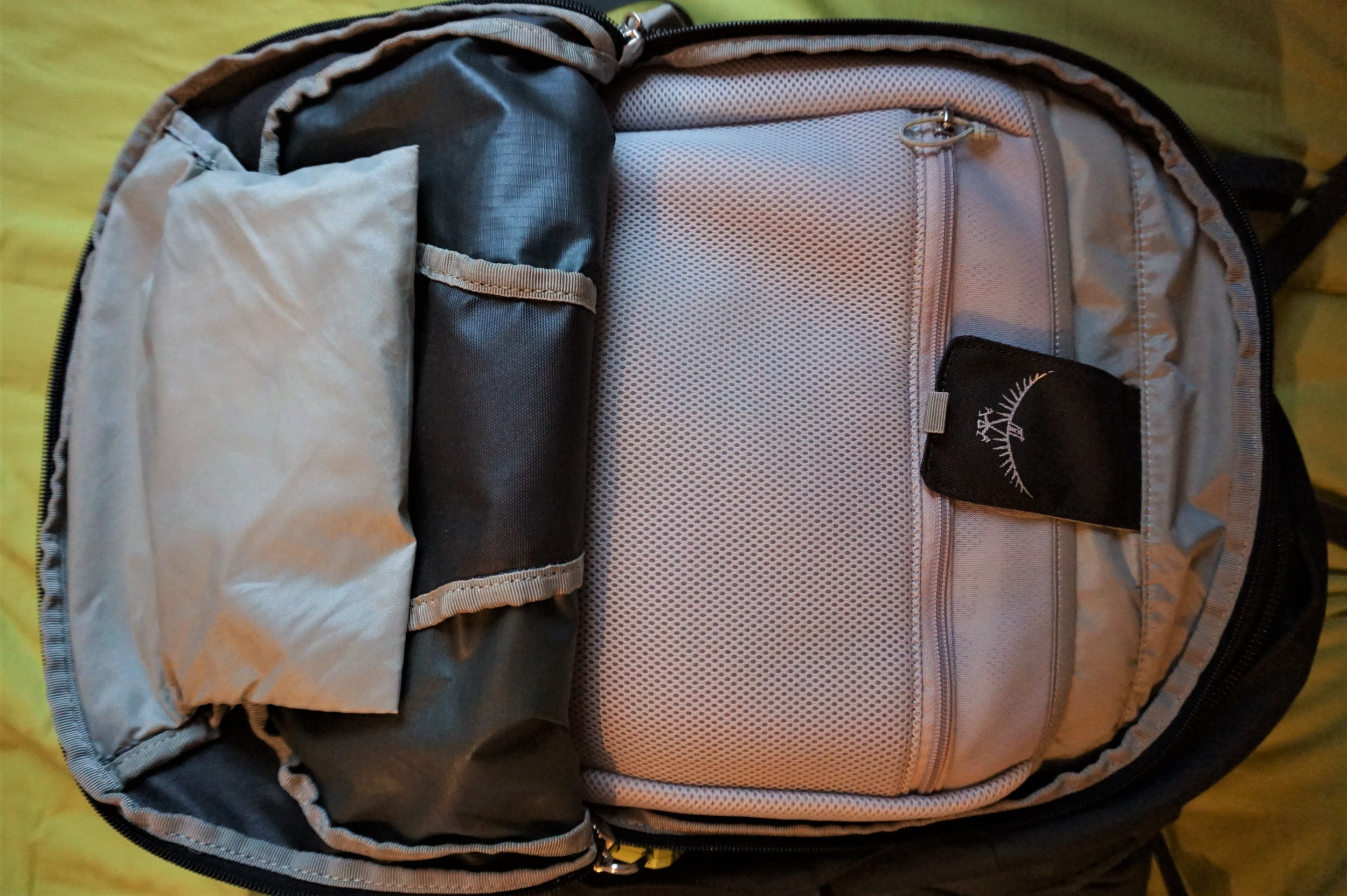 Osprey farpoint 40 is the best carry-on backpack for travelling Europe