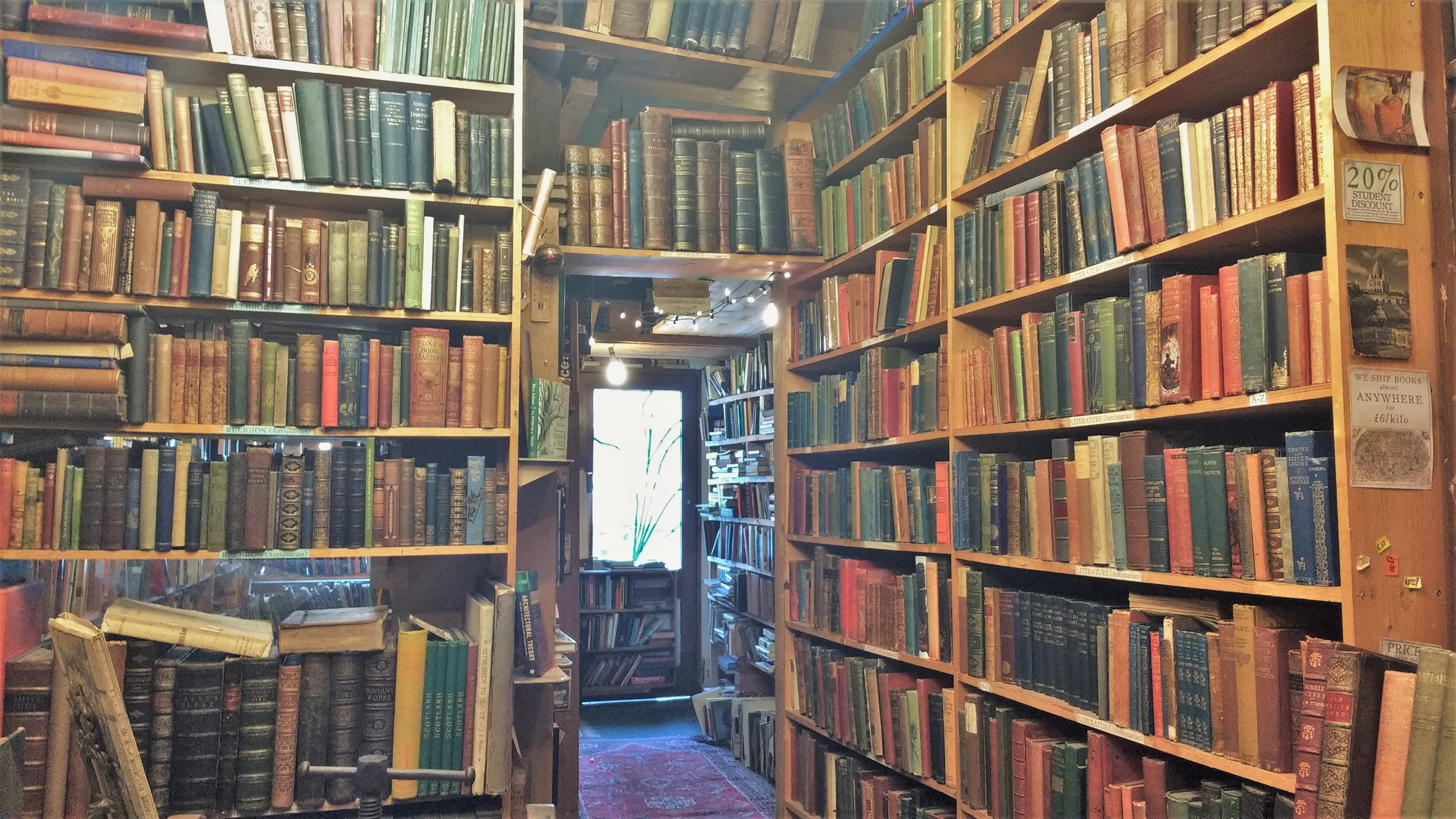 Armchair books best bookstores in Edinburgh
