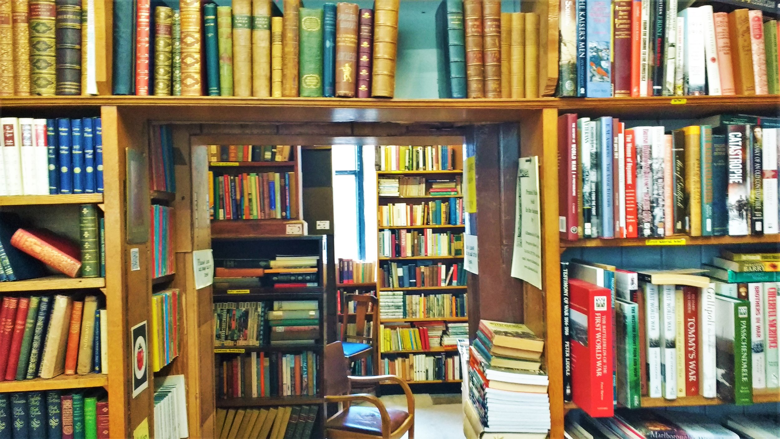 best bookstores in Edinburgh