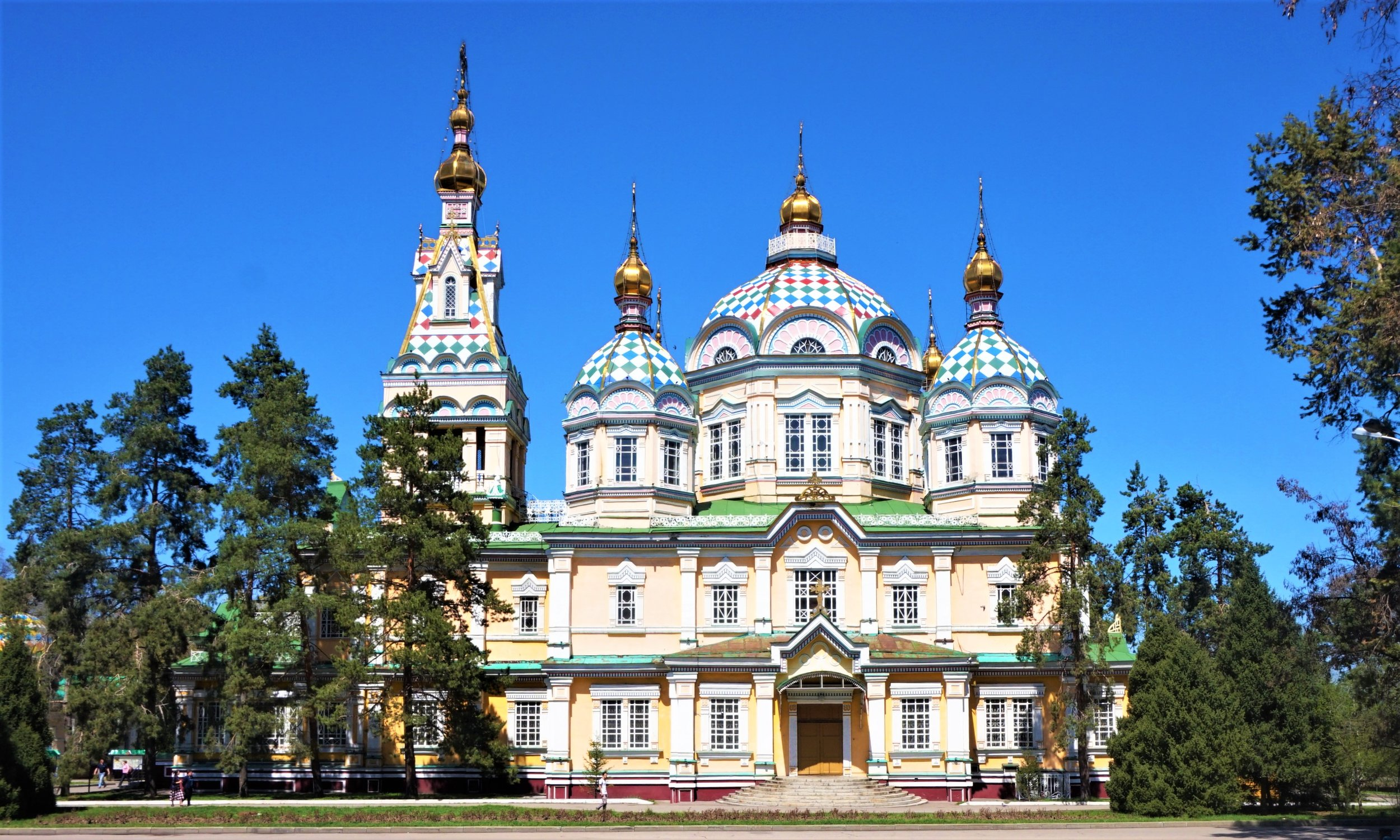 Visiting the Zenkov Cathedral is definitely one of the best things to do in Almaty.