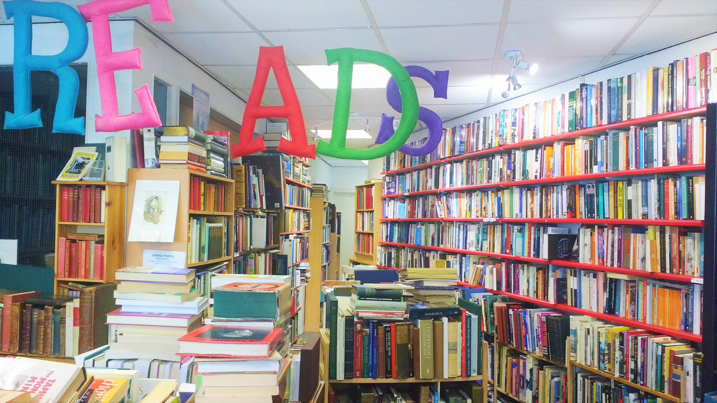 best bookshops in edinburgh old town