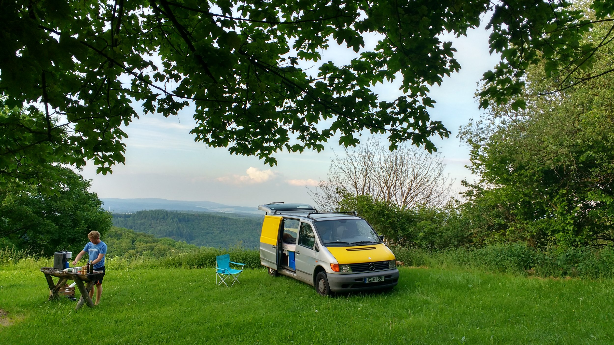 Vanlife is a huge money saver on a budget trip in Europe! Travelling Europe on a budget.