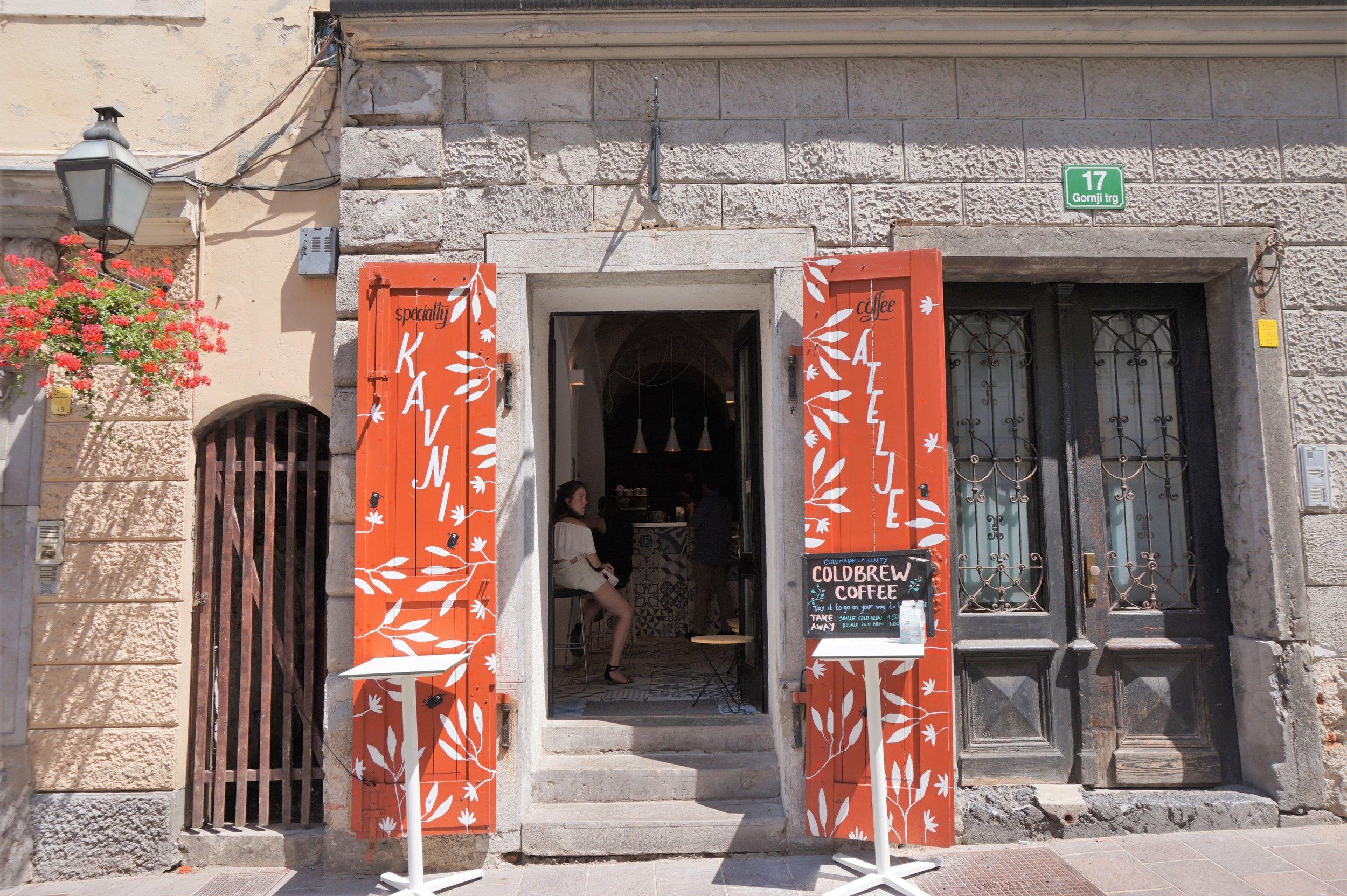best coffee in Ljubljana, Crno Zrno is a popular place to visit in Ljubljana