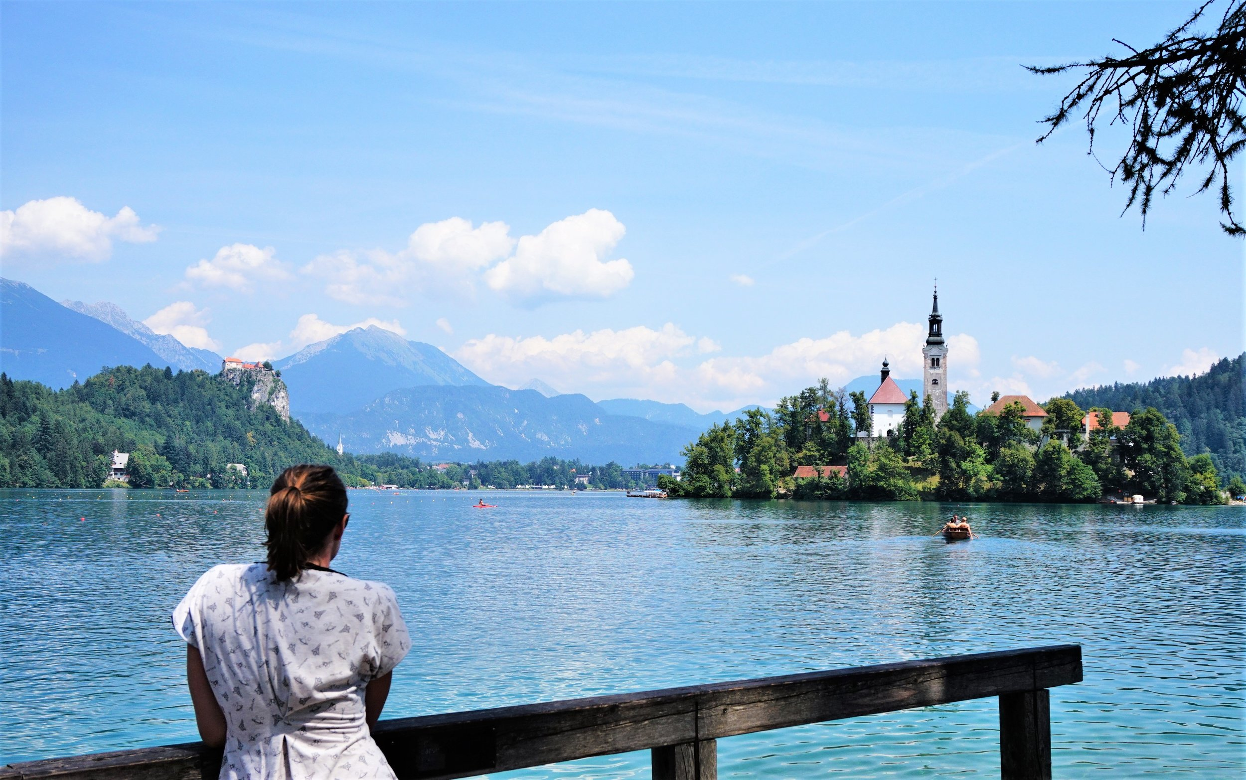 lake bled, slovenia is reachable as a day trip from Ljubljana