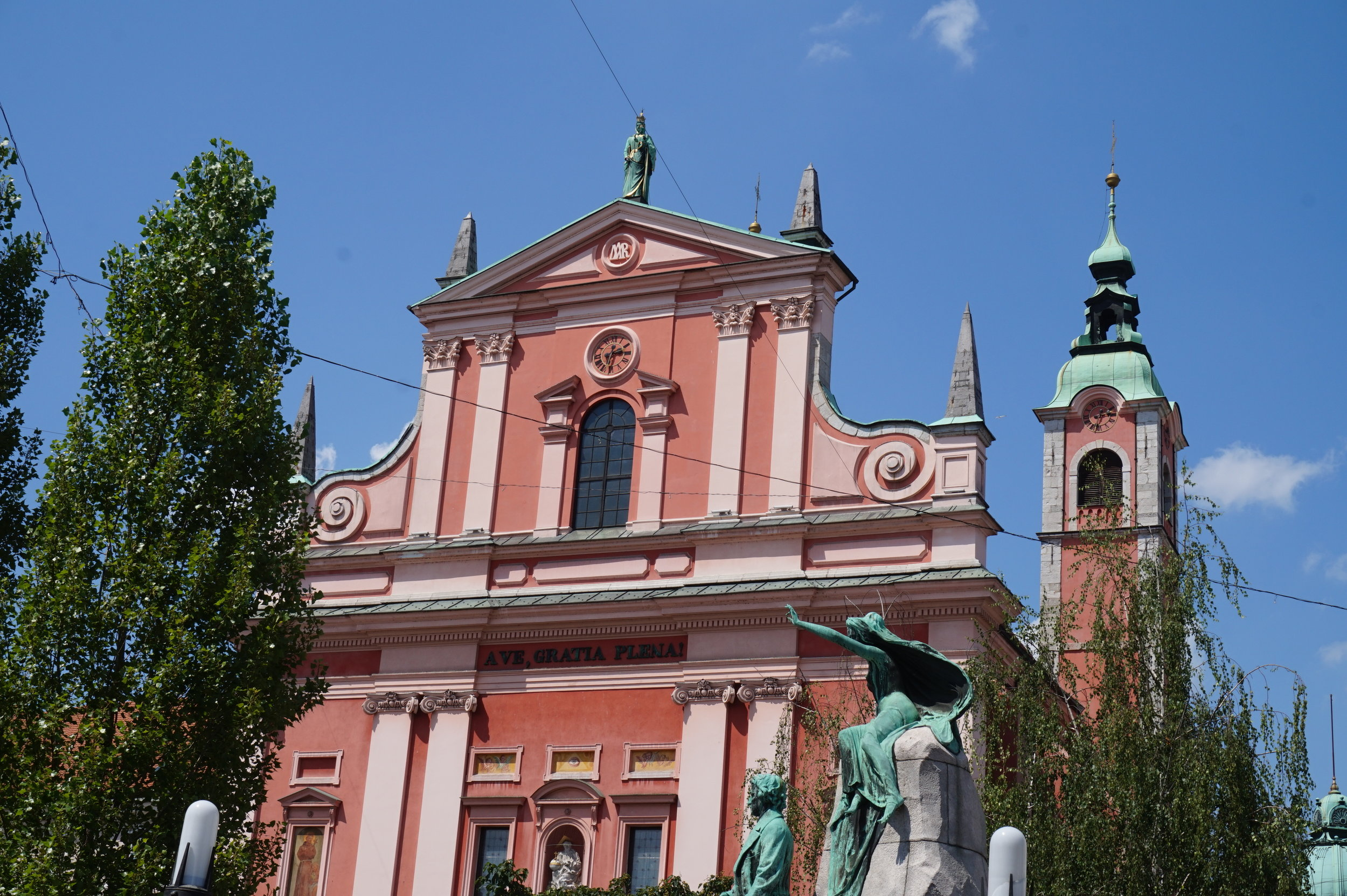 Ljubljana old town is one of the top attractions in Ljubljana and lovely to walk through