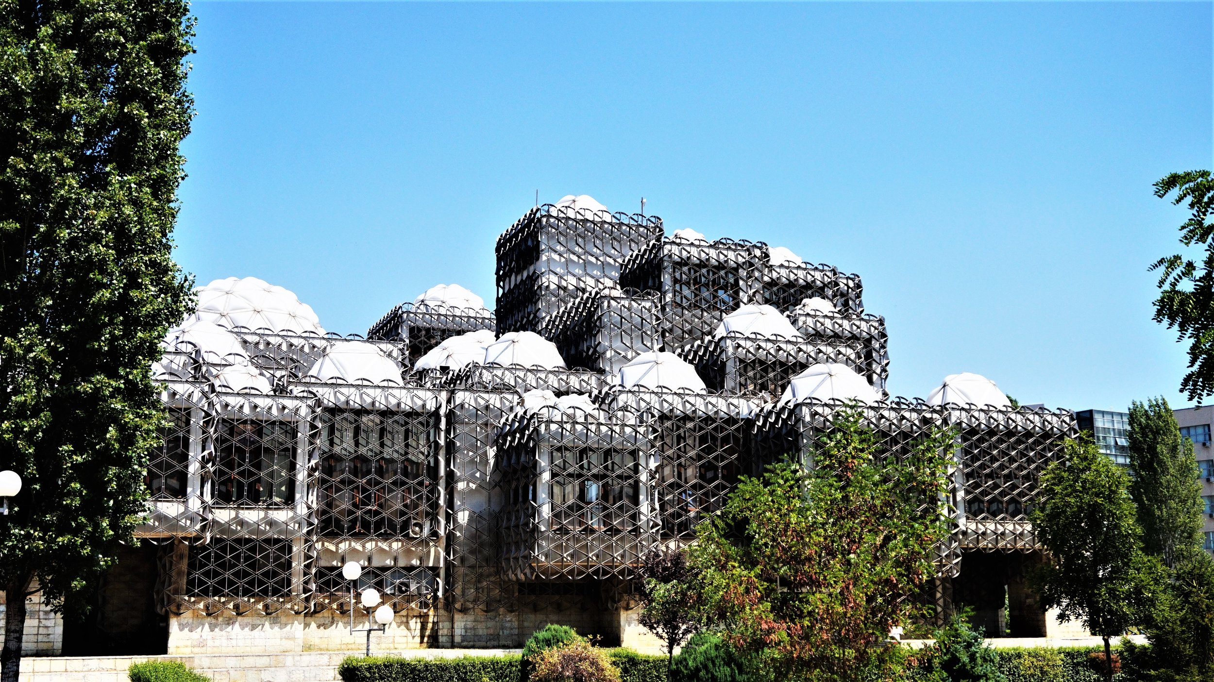top things to do in kosovo - national library pristina