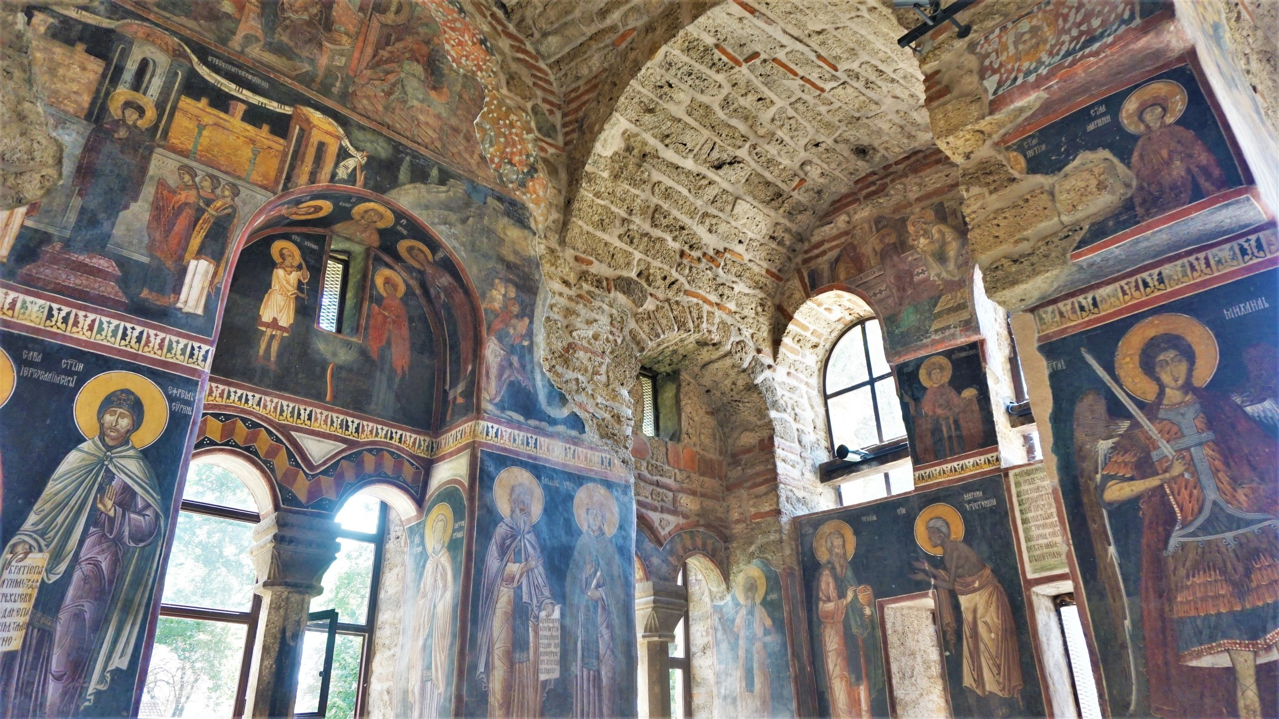 The Granica Monastery outside Pristina is one of the best things to see in Kosovo