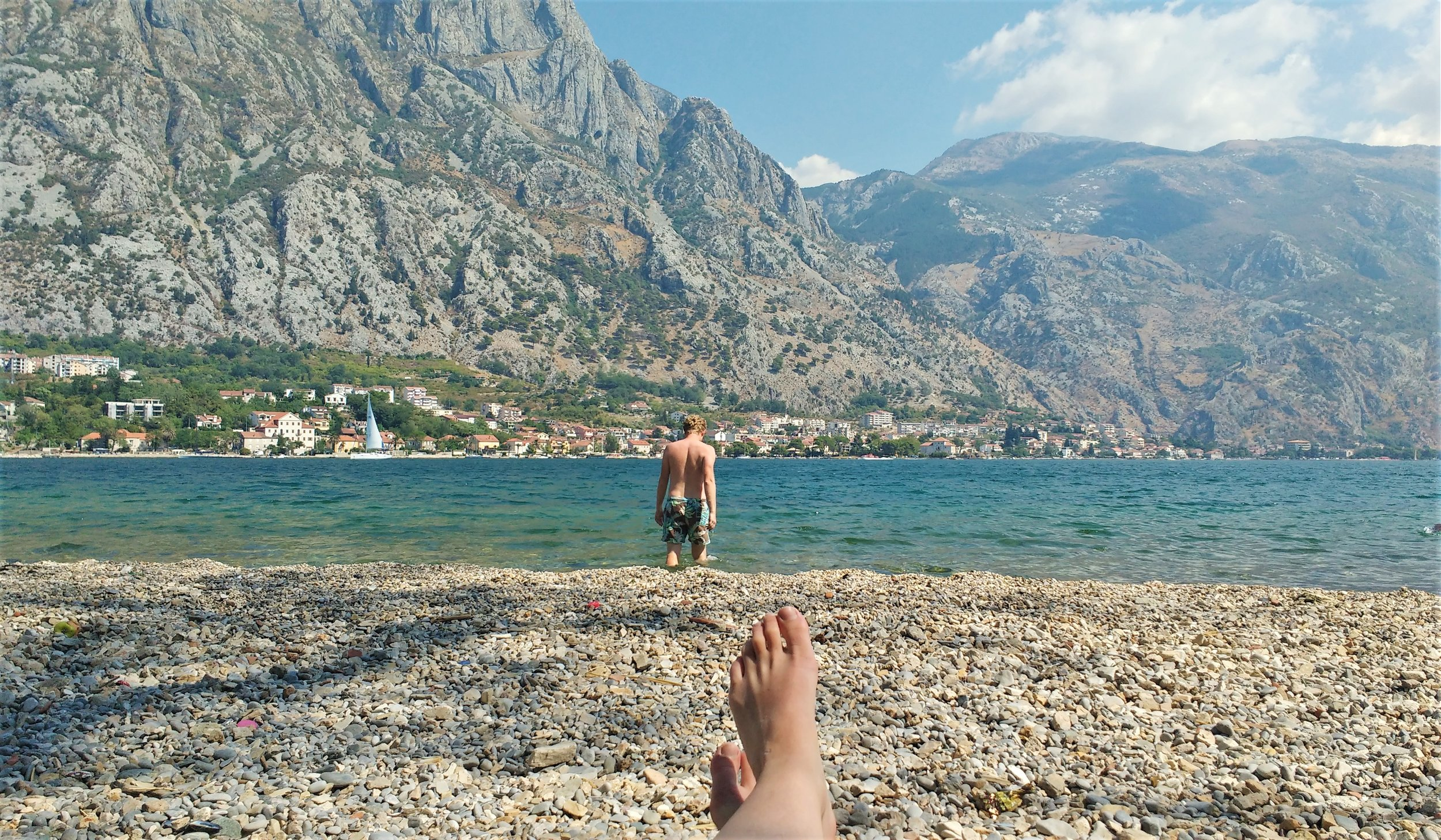 beaches in the bay of kotor