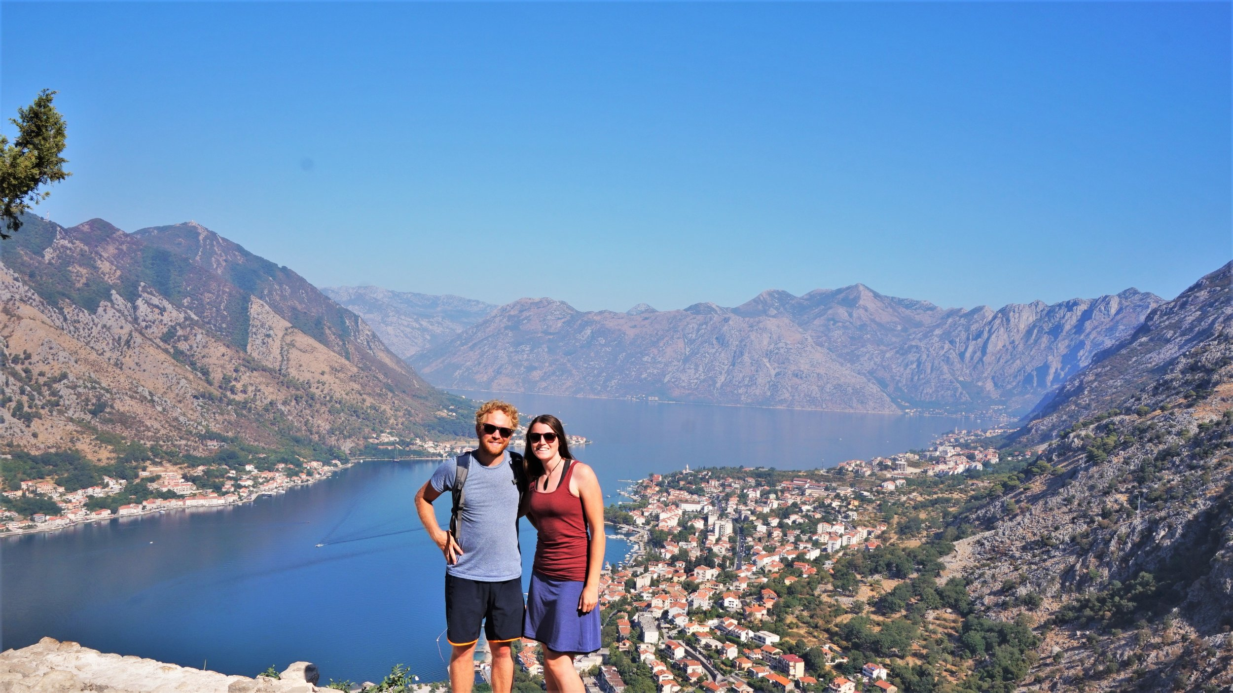 Travelling on a  budget in the Bay of Kotor,  Montenegro.