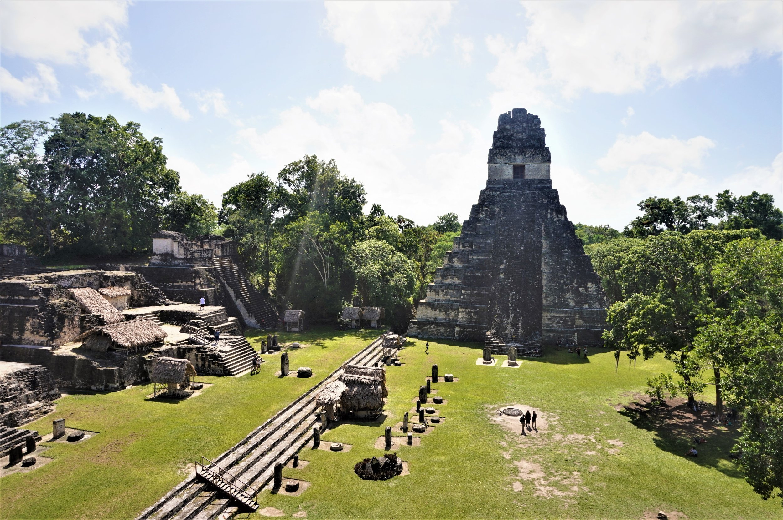 Tikal ruins guatemala how you can camp in the grounds