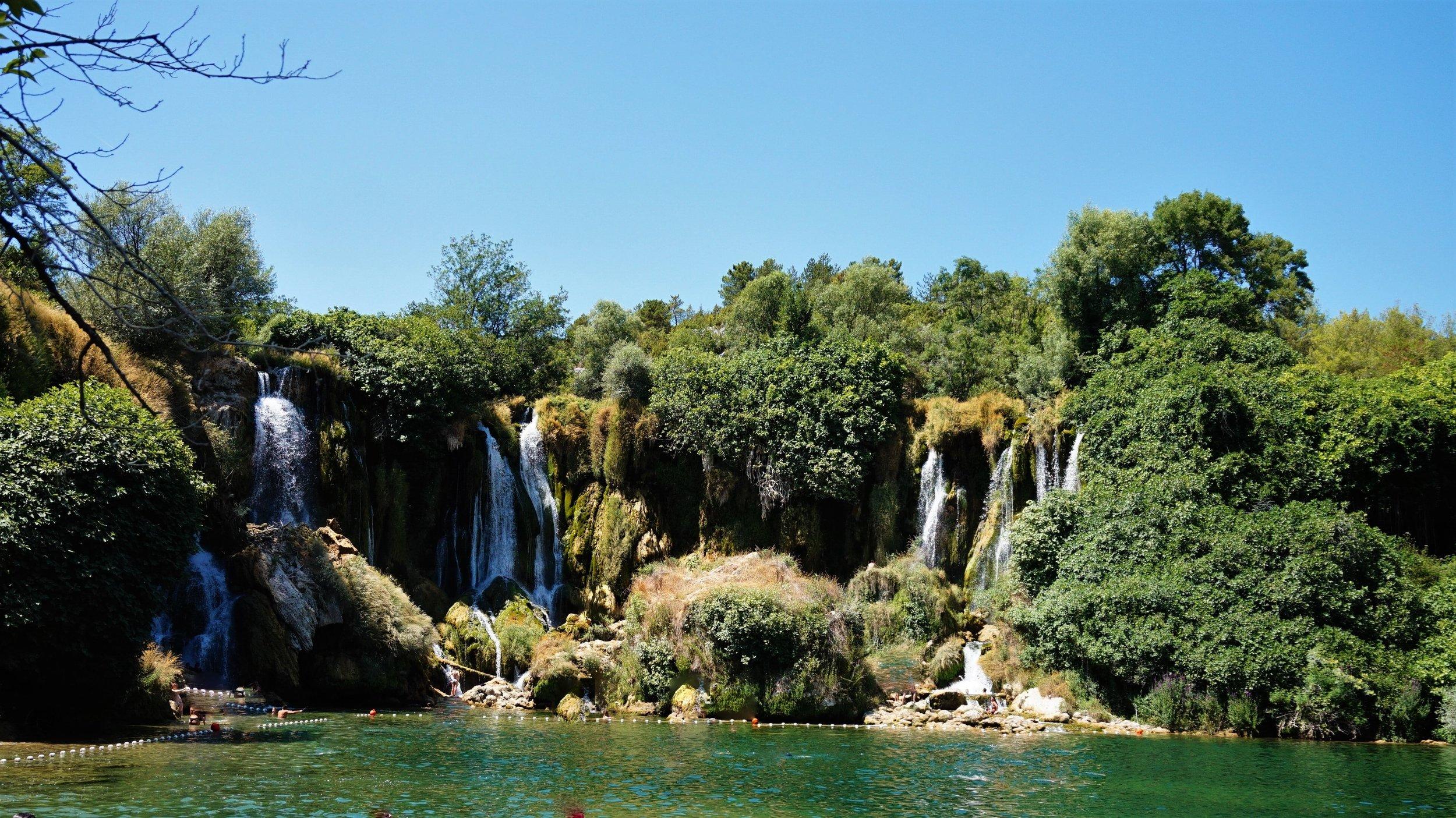 Balkan Roadtrip Intinerary Kravice Waterfall