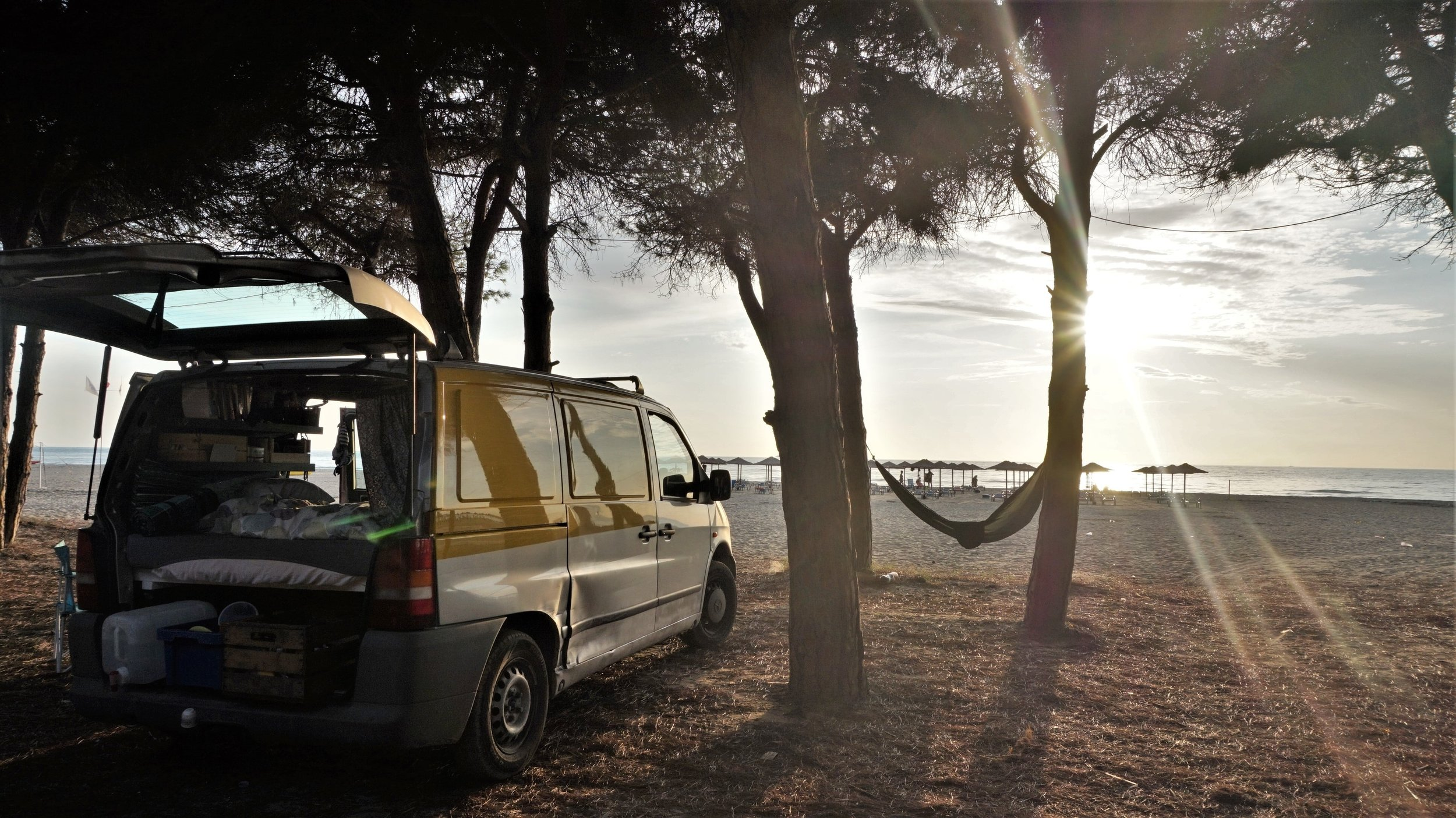 wild camping on the beach in albania best things to do in albania