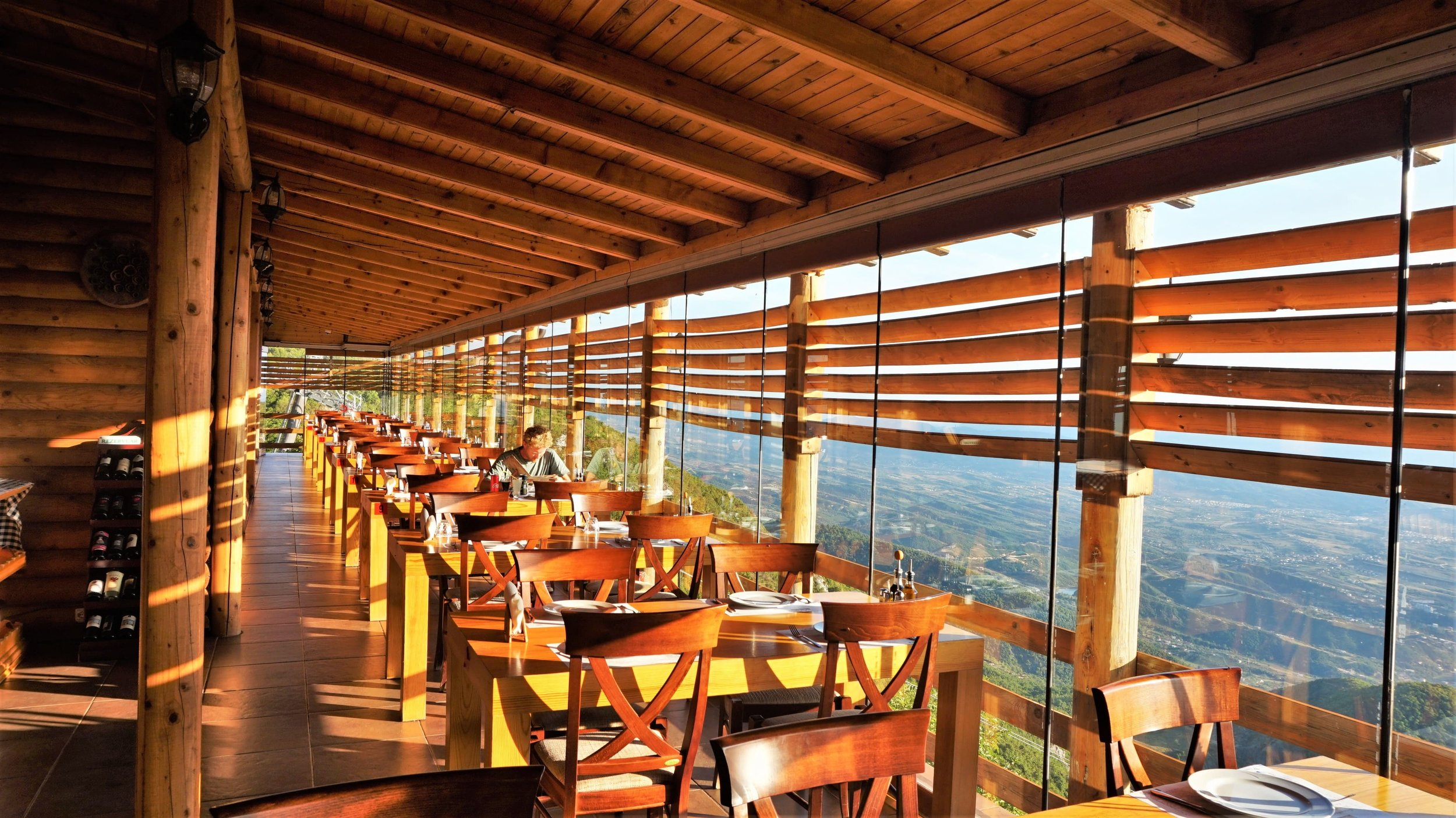 Another great place to eat wit some beautiful views from mount Dajti.
