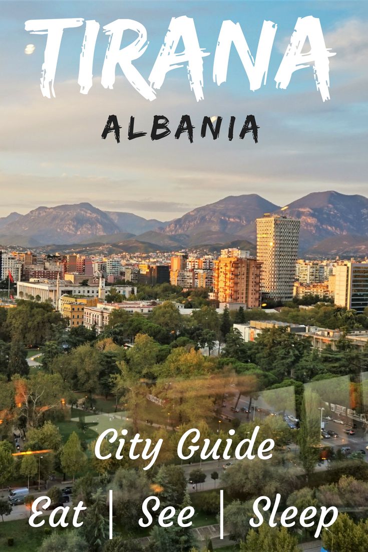Tirana City Guide! Everything you need to know about public transport, things to do, places to eat and day trips from Tirana. #tirana #albania #cityguide