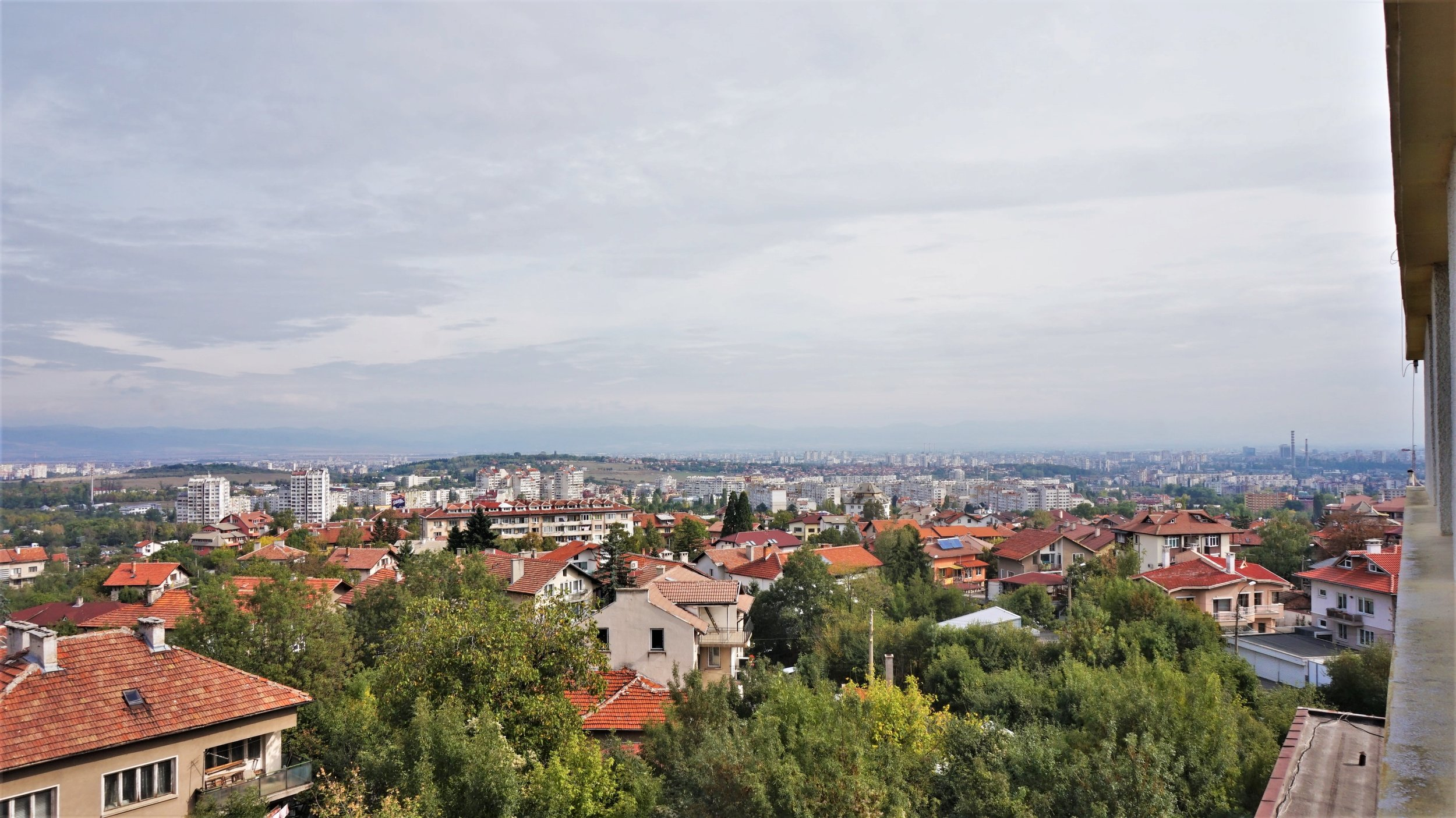 The view from Hotel Gorna Banya