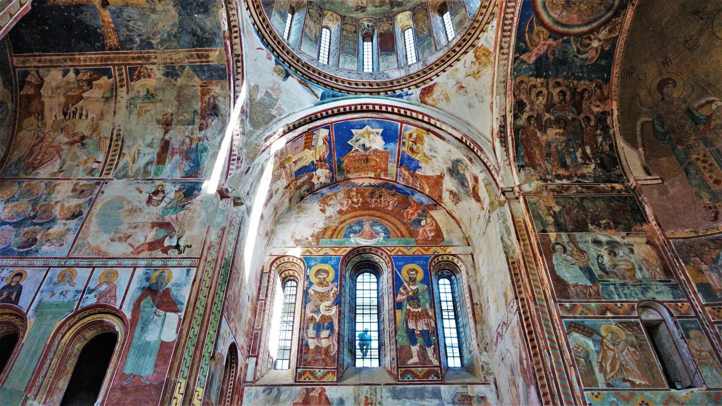 Gelati Monastery inside