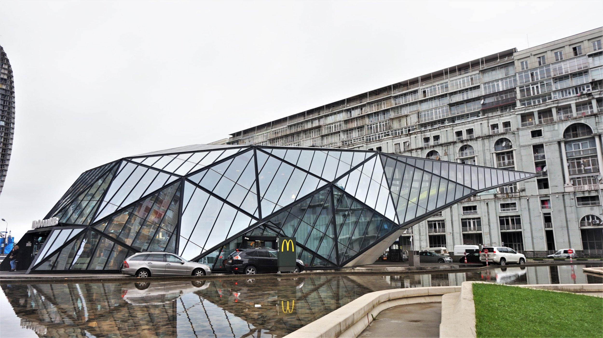 weird things to do in Batumi the coolest MCDonalds in the world