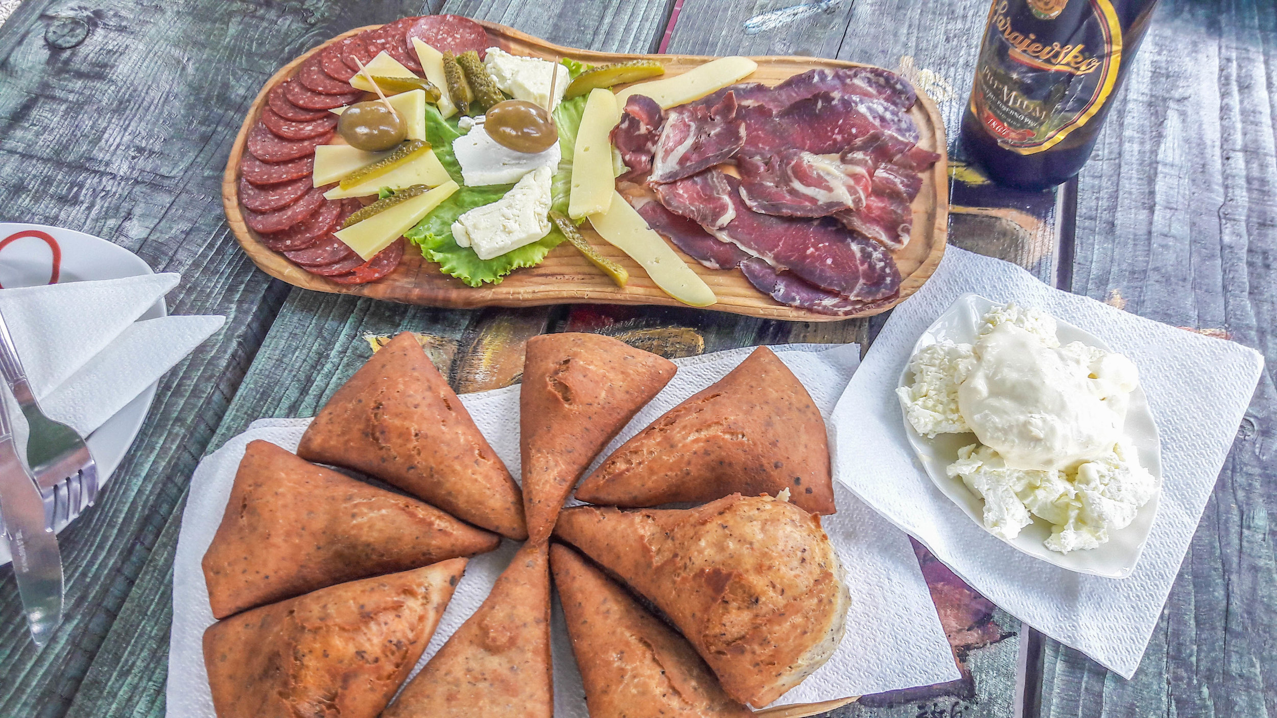 Food in Bosnia and Herzegovina, one of the best parts about travel in the Balkans
