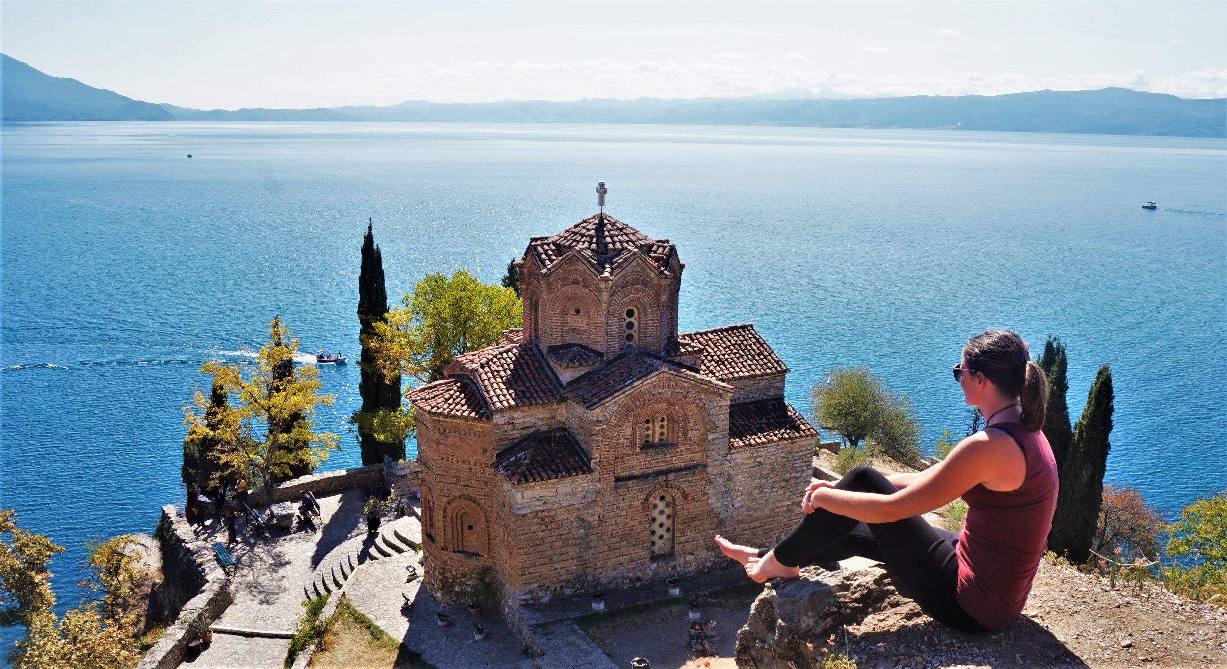 things to do on a road trip in the balkans lake ohrid macedonia