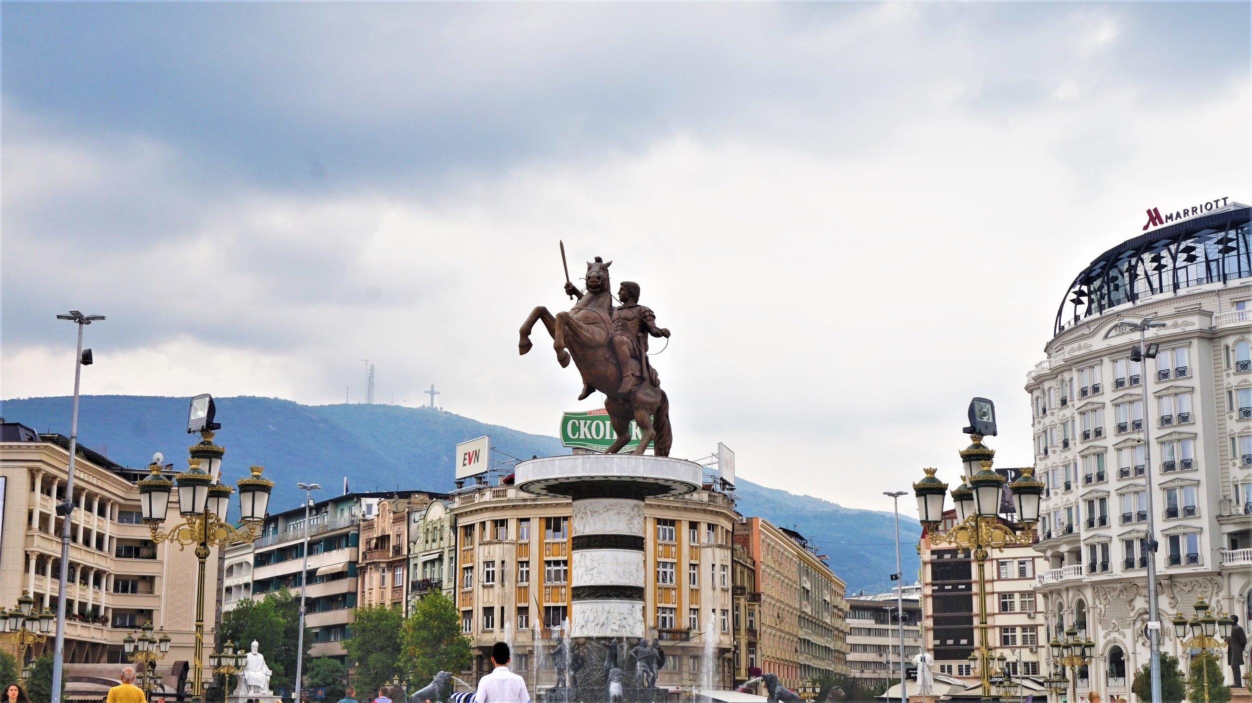 road trip through the balkans places to stop skopje macedonia