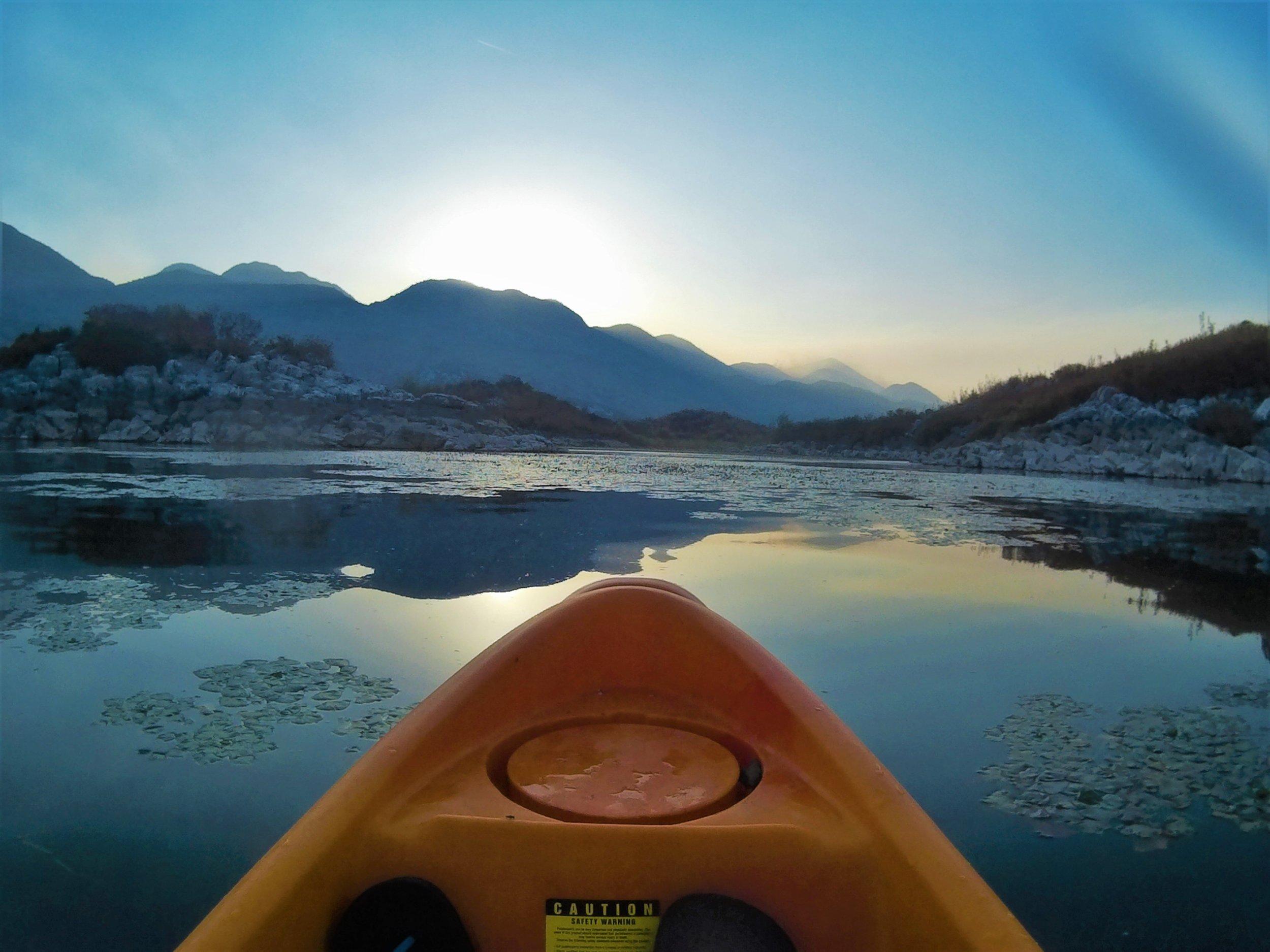 balkan road trip itinerary lake skadar montenegro