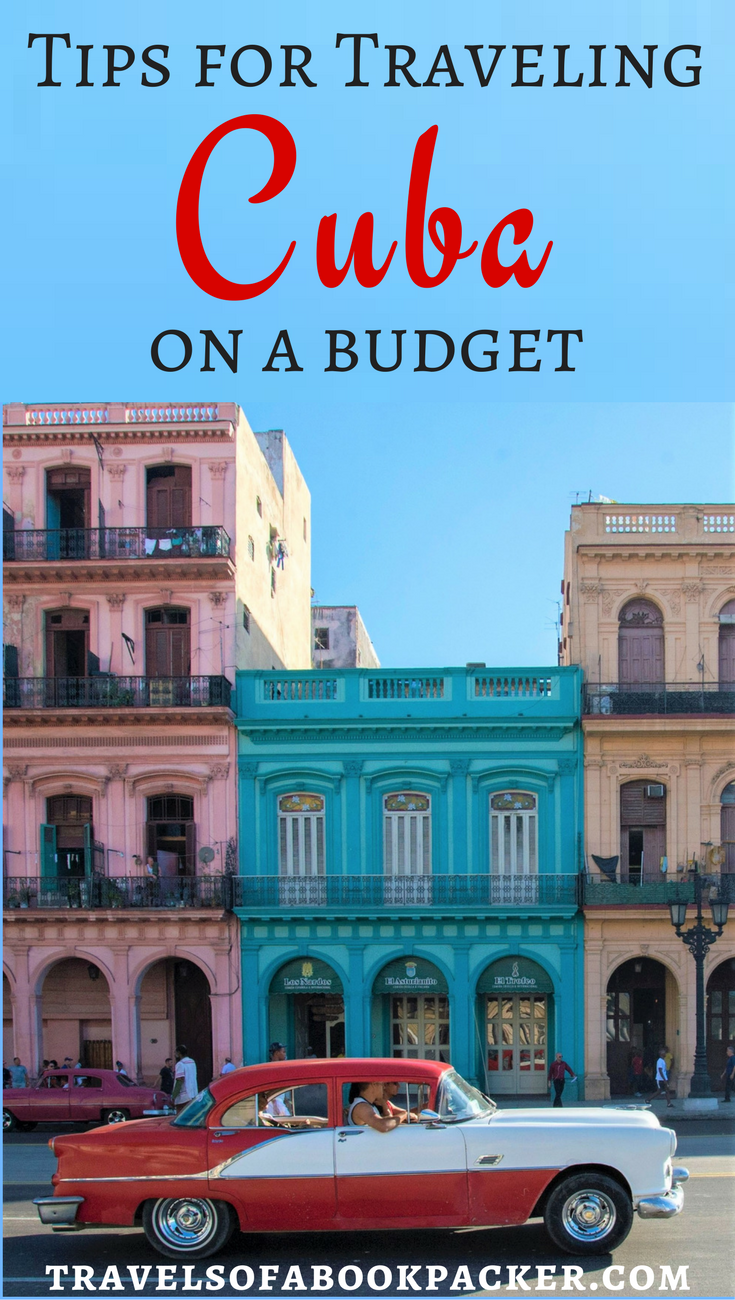 Your ultimate guide to backpacking in Cuba on a budget. Everything you need to know about transport in Cuba, budget accommodation in Cuba and what to eat in Cuba without breaking the bank! #cuba #caribbean #beach #cubabeach #travel #traveltips #backpacking #havanna #lahabana #Budget #budgettravel