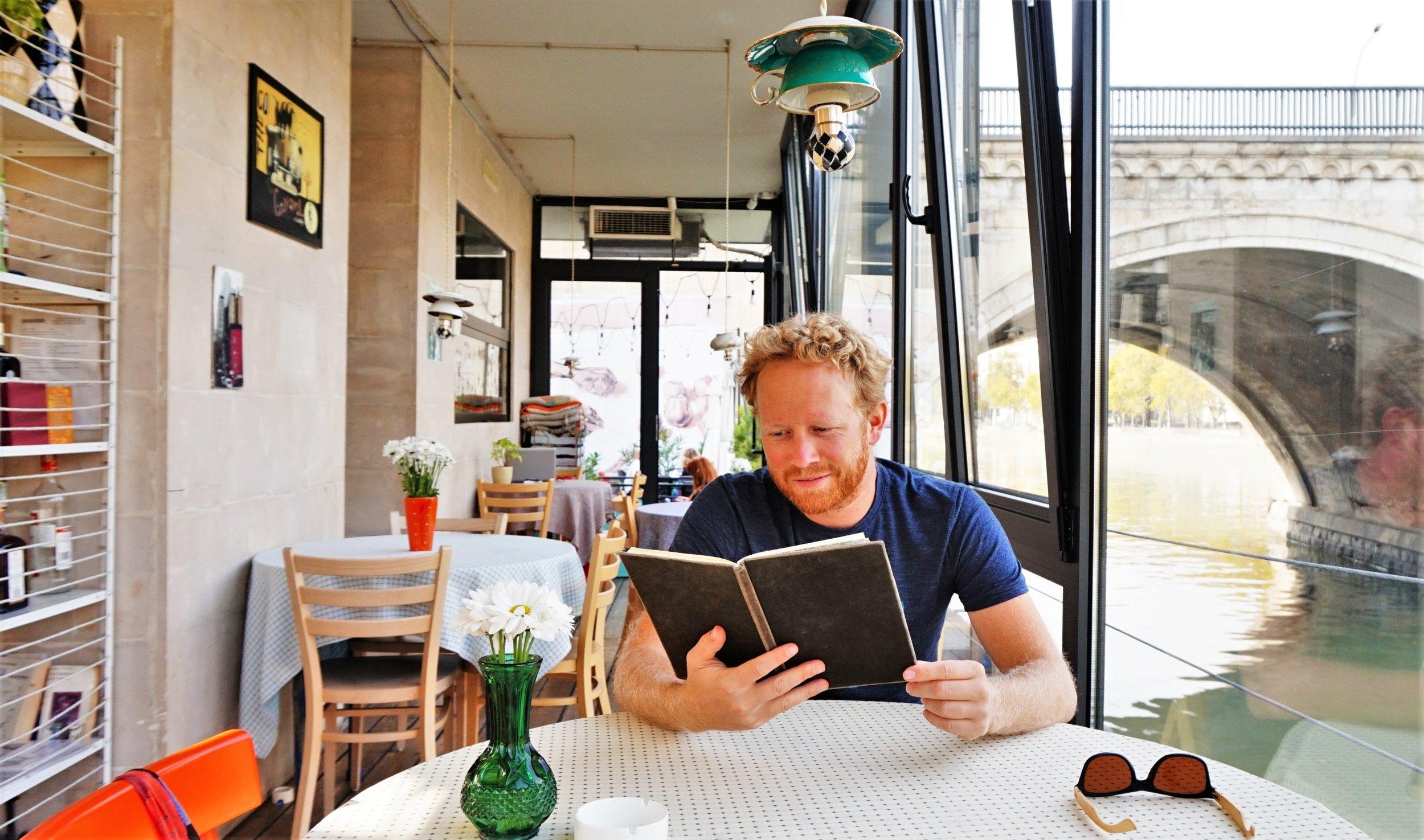 Book corner cafe tbilisi