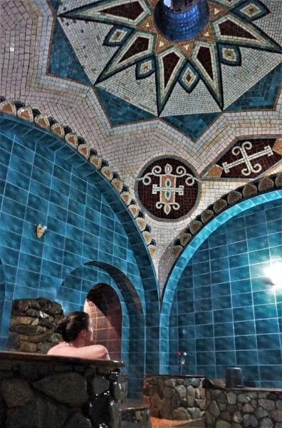 sulfur baths tbilisi georgia interior