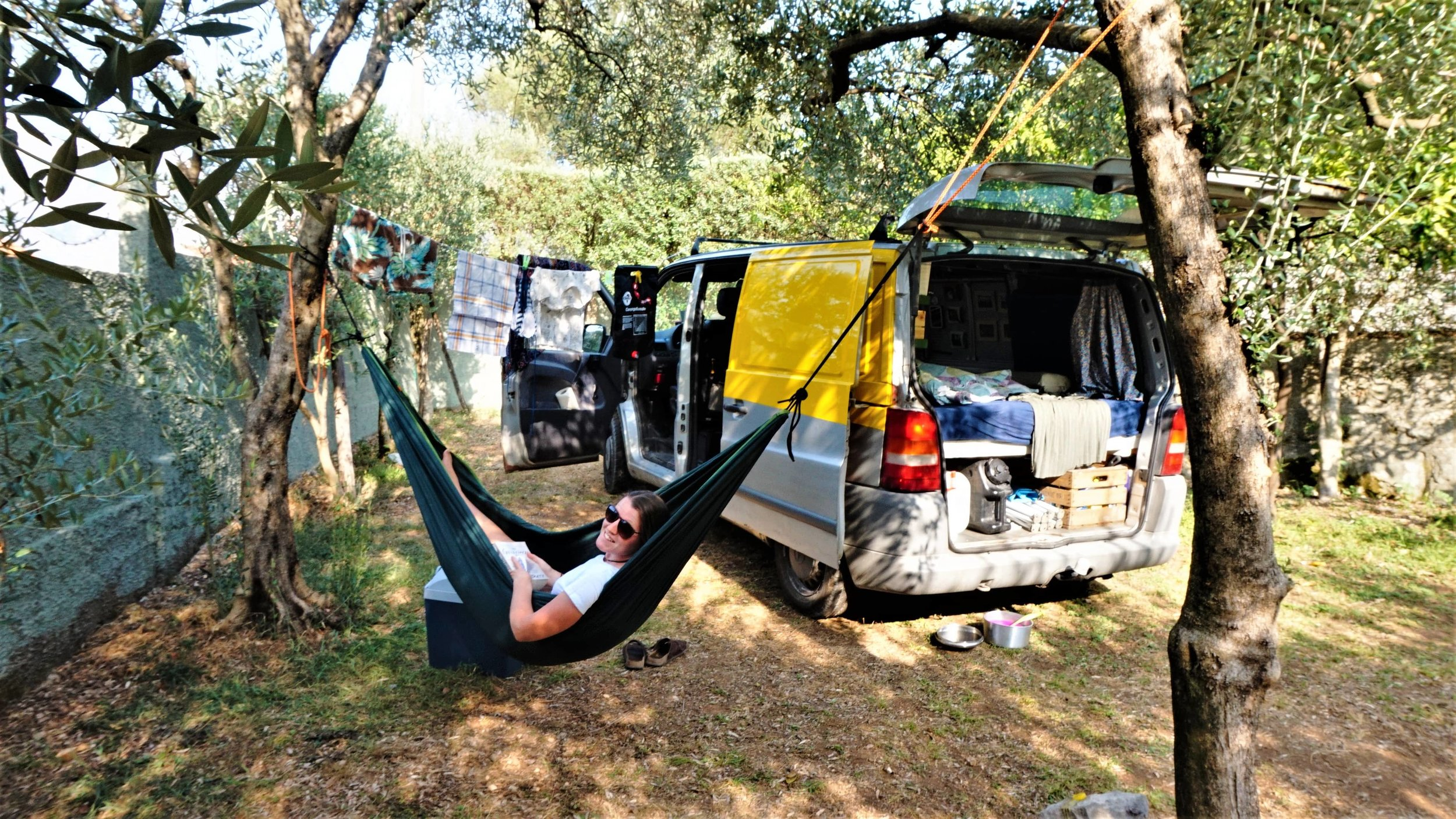 Campground in Montenegro