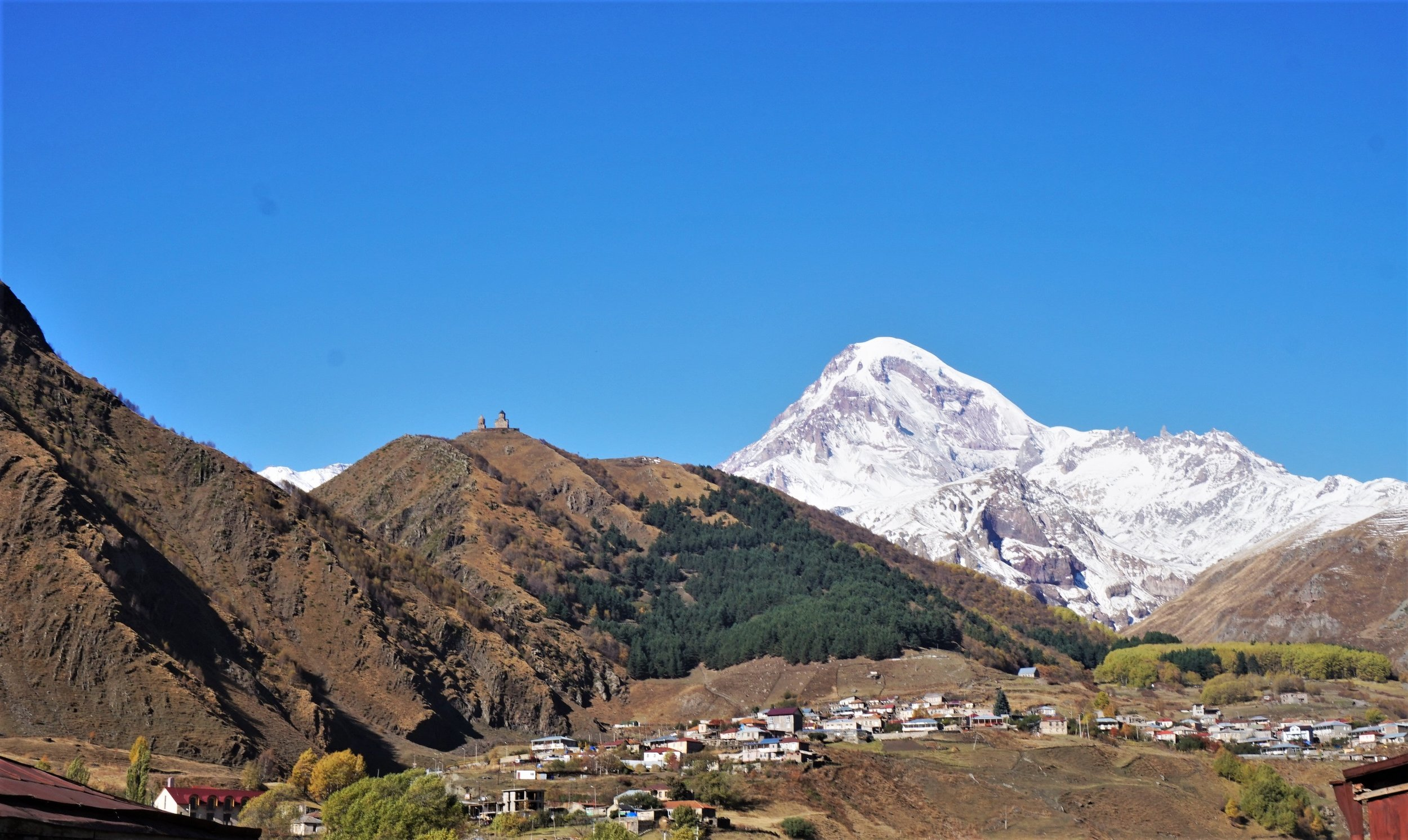 Georgia Travel Itinerary. Kazbegi is a must visit place for hiking and nature enthusiasts.