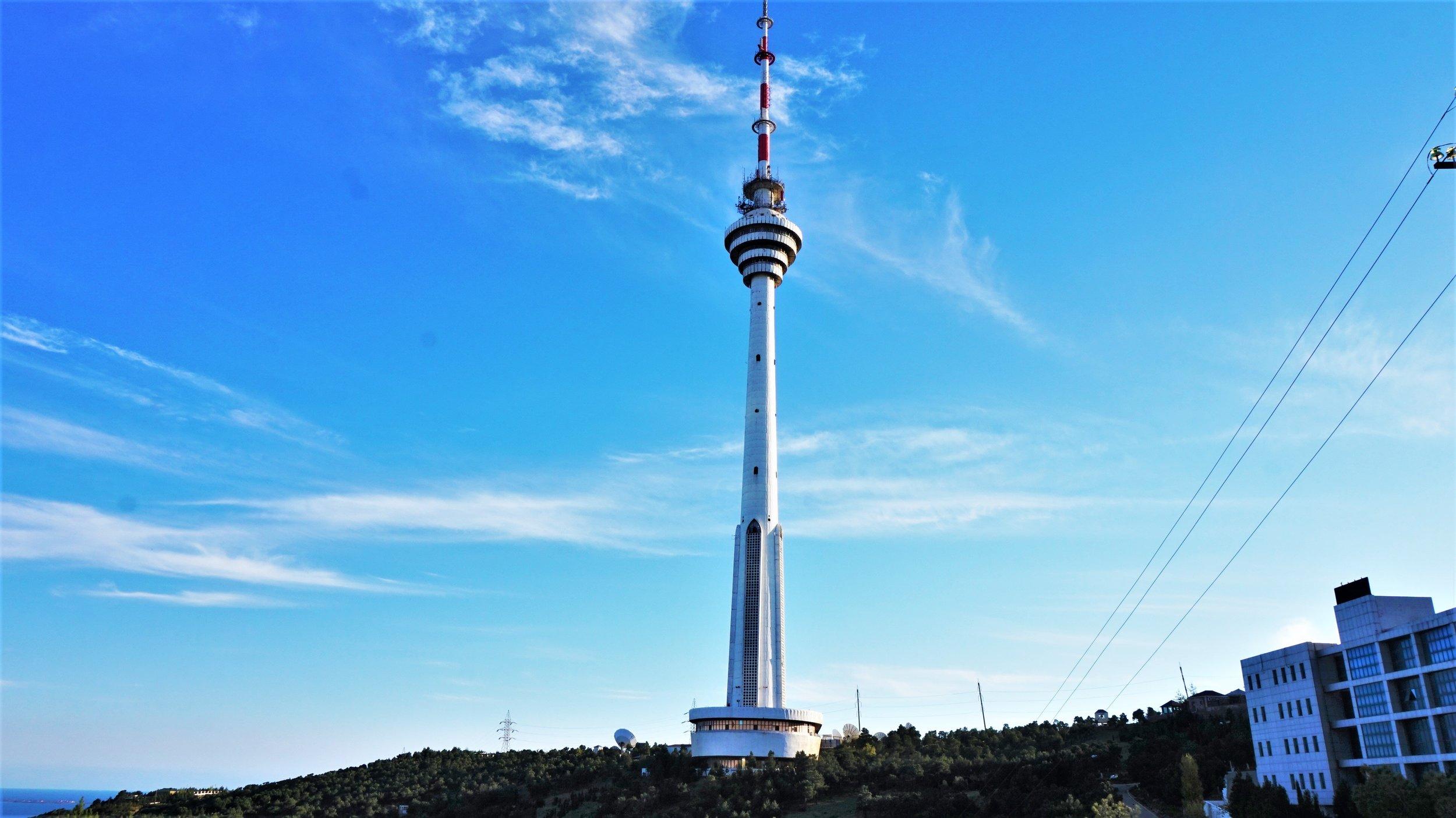 radio tower baku