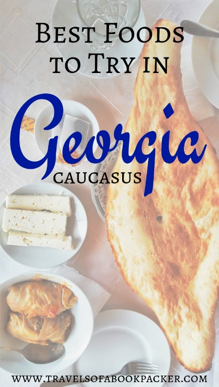 The most delicious local Georgian foods you must try on your trip to Georgia. #deliciousfood #georgia #caucasus