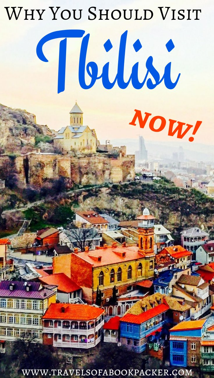 Tbilisi has been named one of the hottest destinations in 2018. Read about all the reasons why you should visit Tbilisi, Georgia now! #tbilisi #georgia #hottestdestination2018 #caucasus #citybreak