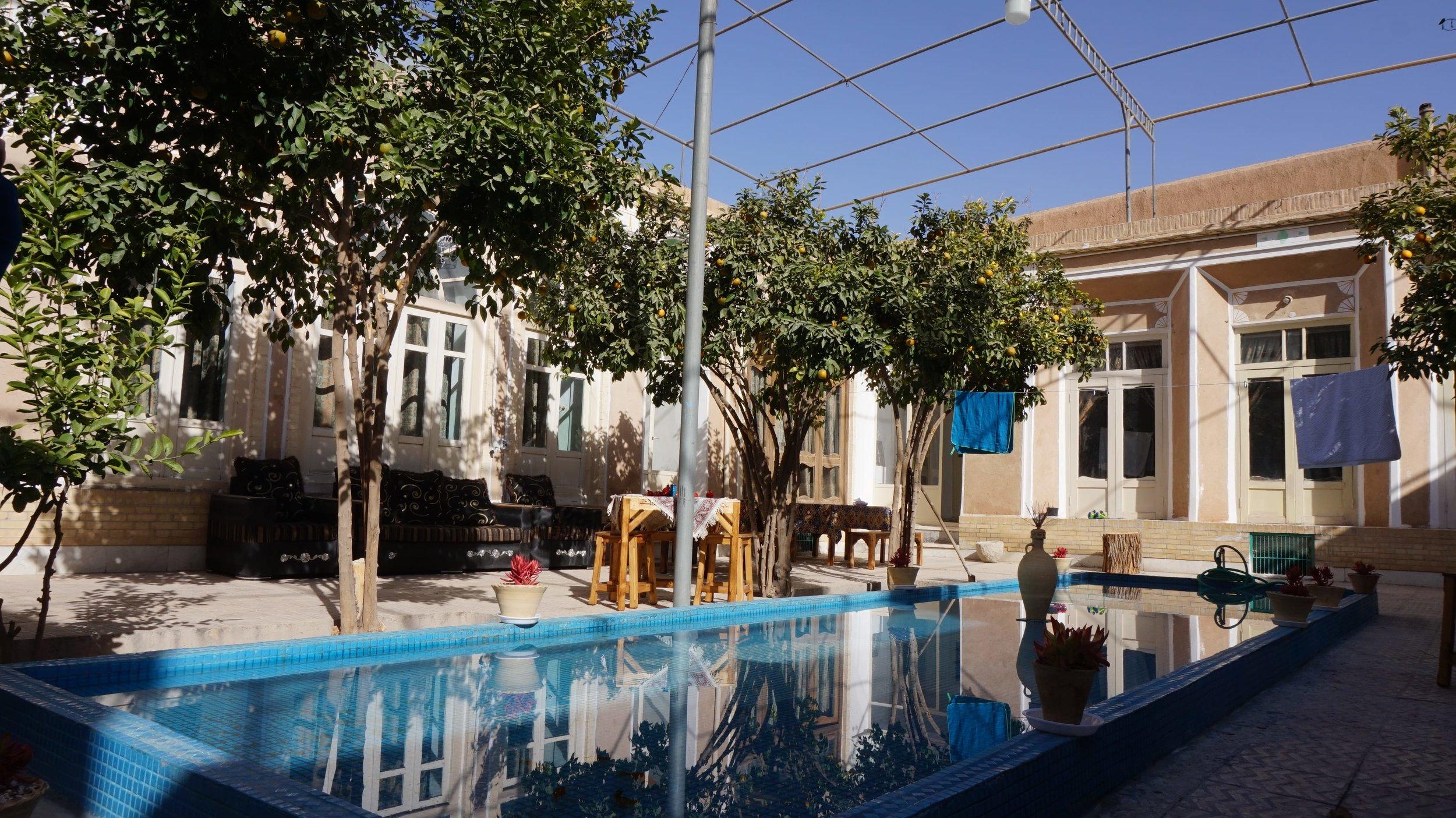 Yazd rest up hostel - best accommodation in Iran