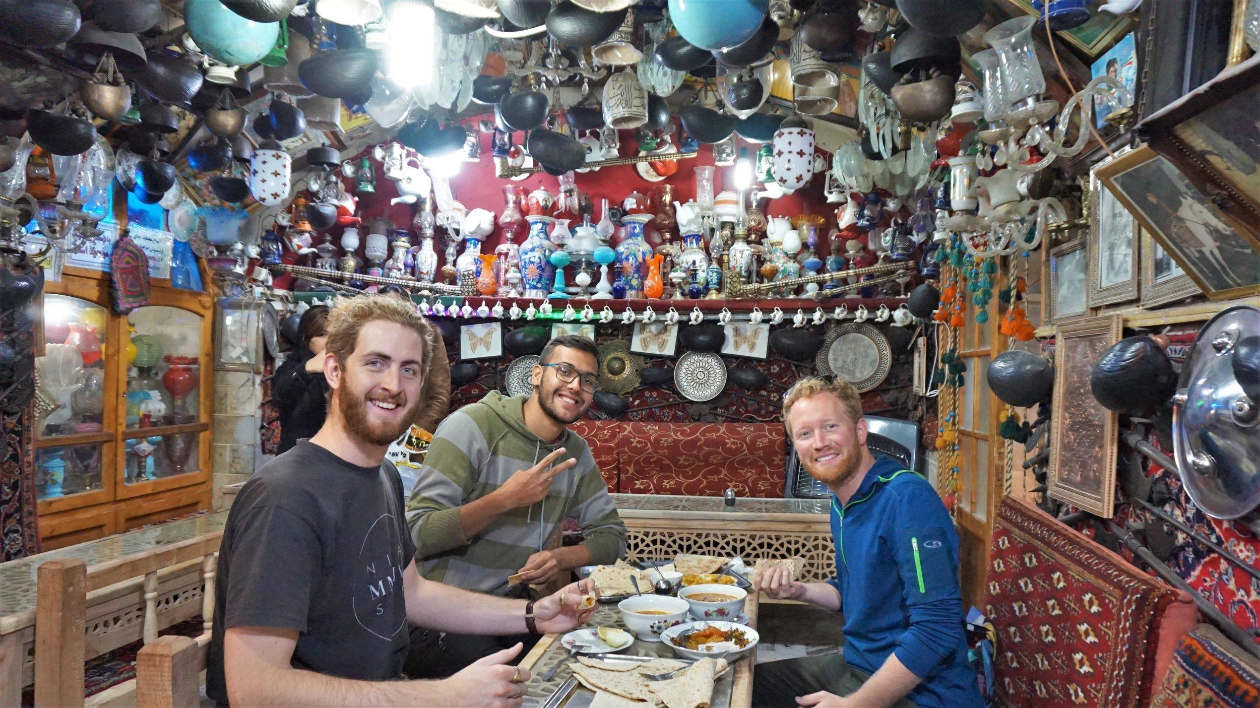 restaurants in Iran