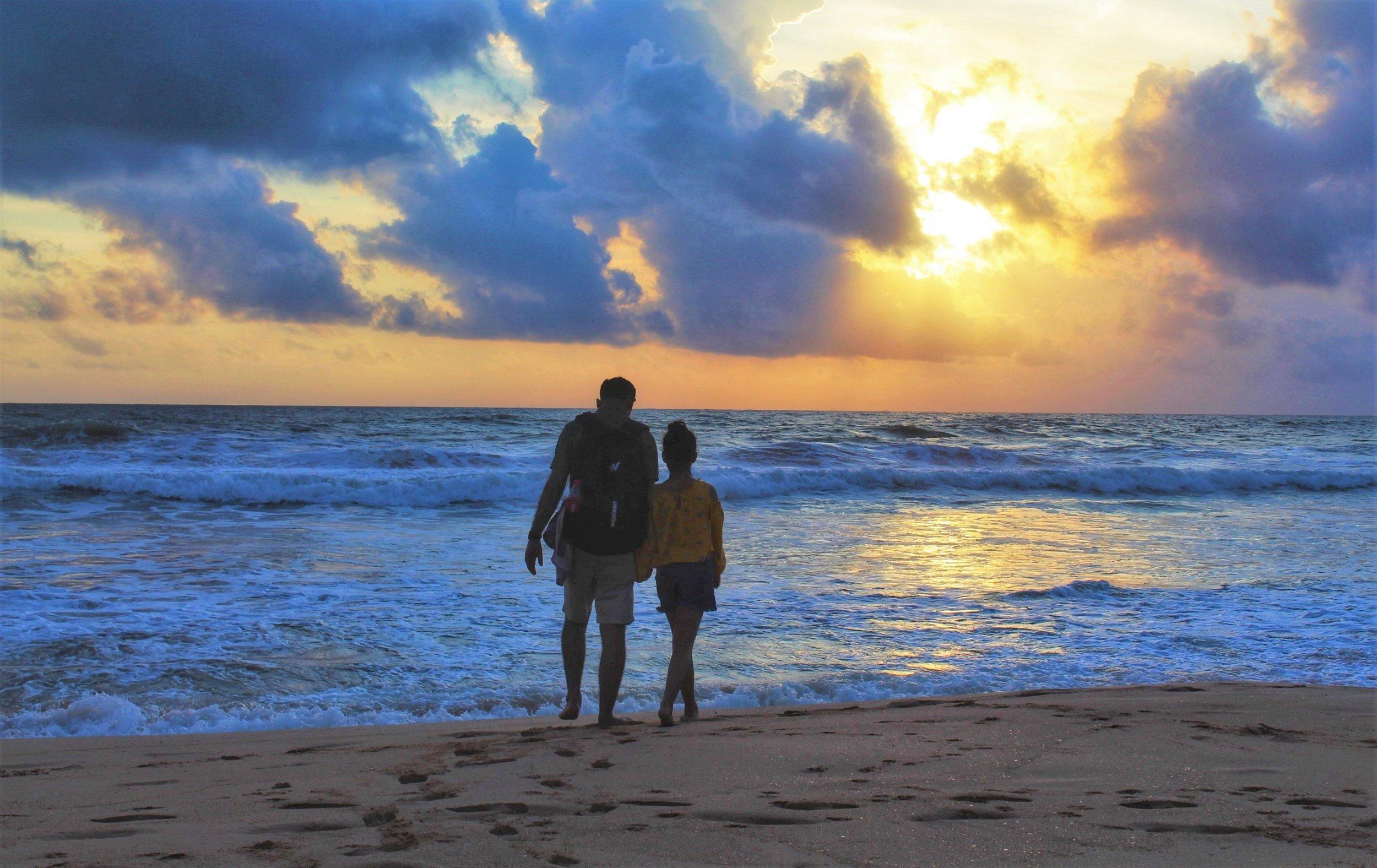 Unawantuna is one of the best beaches in Sri Lanka.