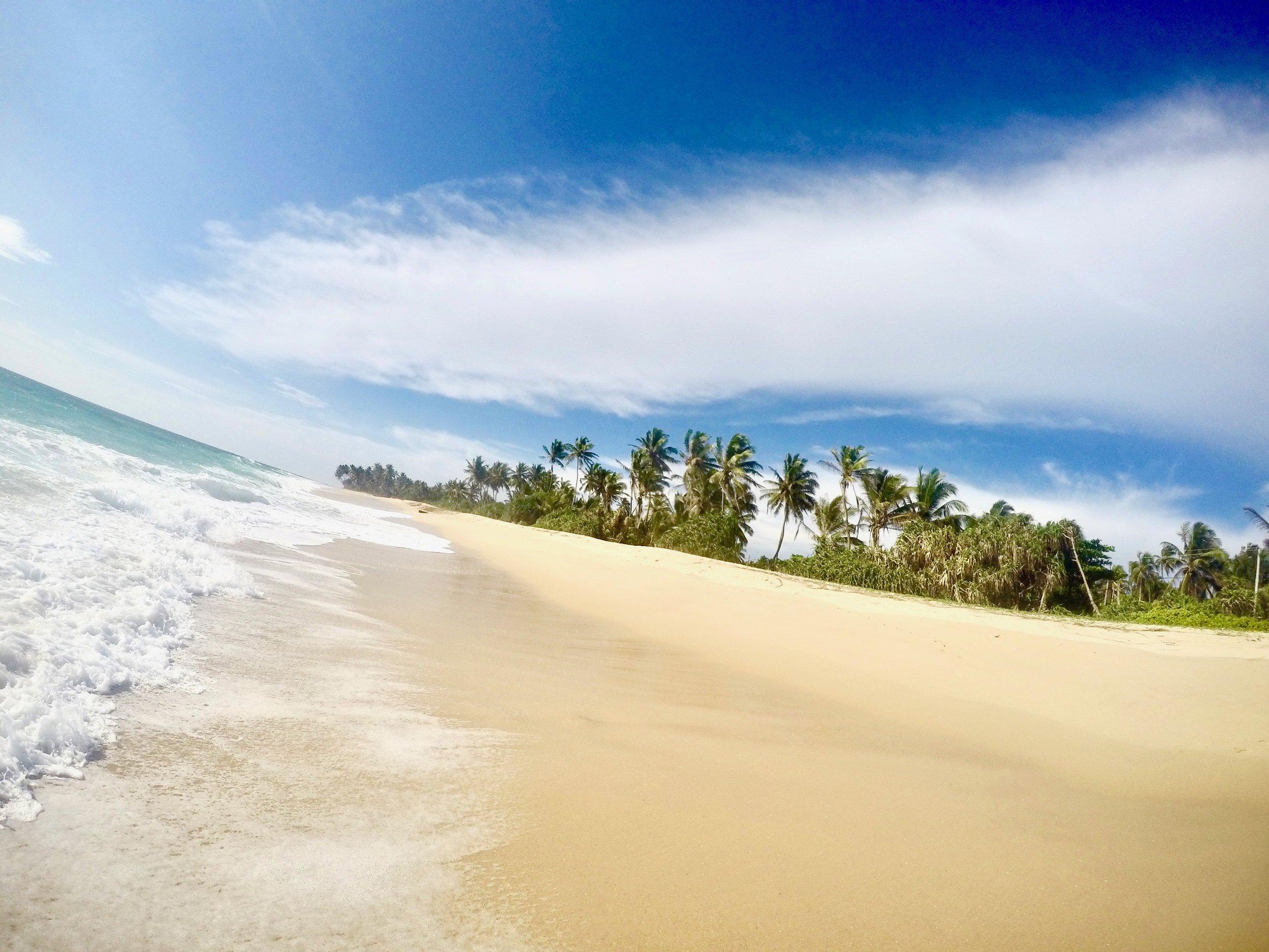 Hikkaduwa is another one of our beautiful Sri Lanka beaches.